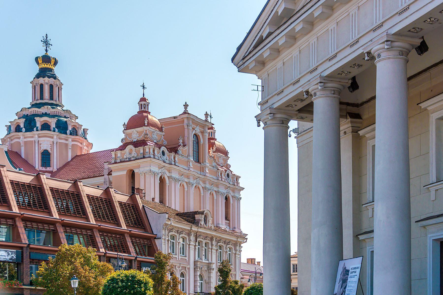 townhouses por un Venta en Exclusive Building in the Heart of Old Town Vilnius, Vilnius County Lituania