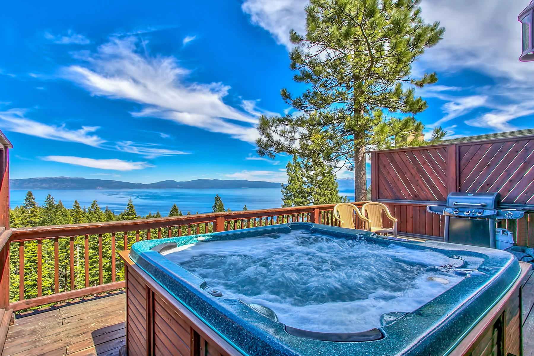 Частный односемейный дом для того Продажа на 1142 Clearview Court, Tahoe City, California 96145 Tahoe City, Калифорния 96145 Соединенные Штаты