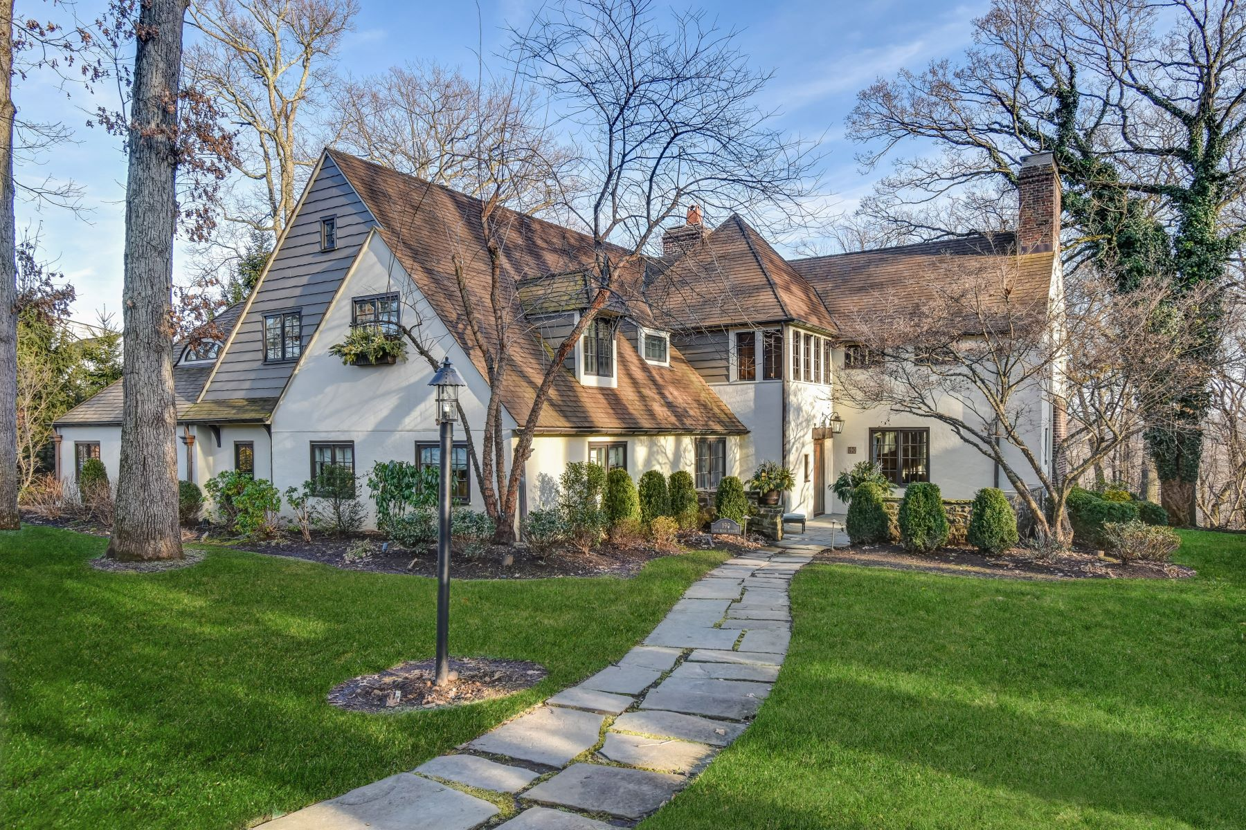 Single Family Homes for Active at Exquisite French Normandy Manor 190 Oak Ridge Avenue Summit, New Jersey 07901 United States