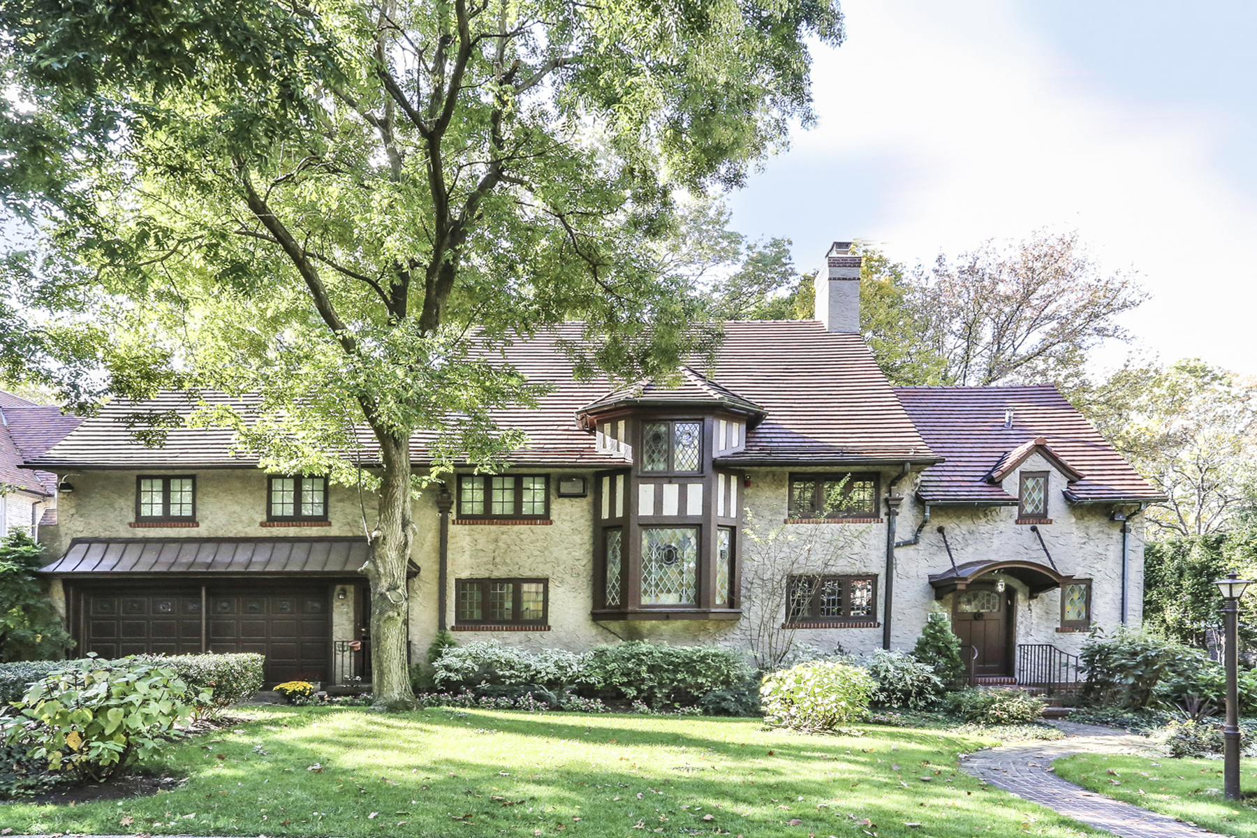 """Single Family Homes for Sale at """"ARCHITECTURALLY MAGNIFICENT TUDOR RESIDENCE"""" 229 Greenway South, Forest Hills Gardens, Queens, New York 11375 United States"""