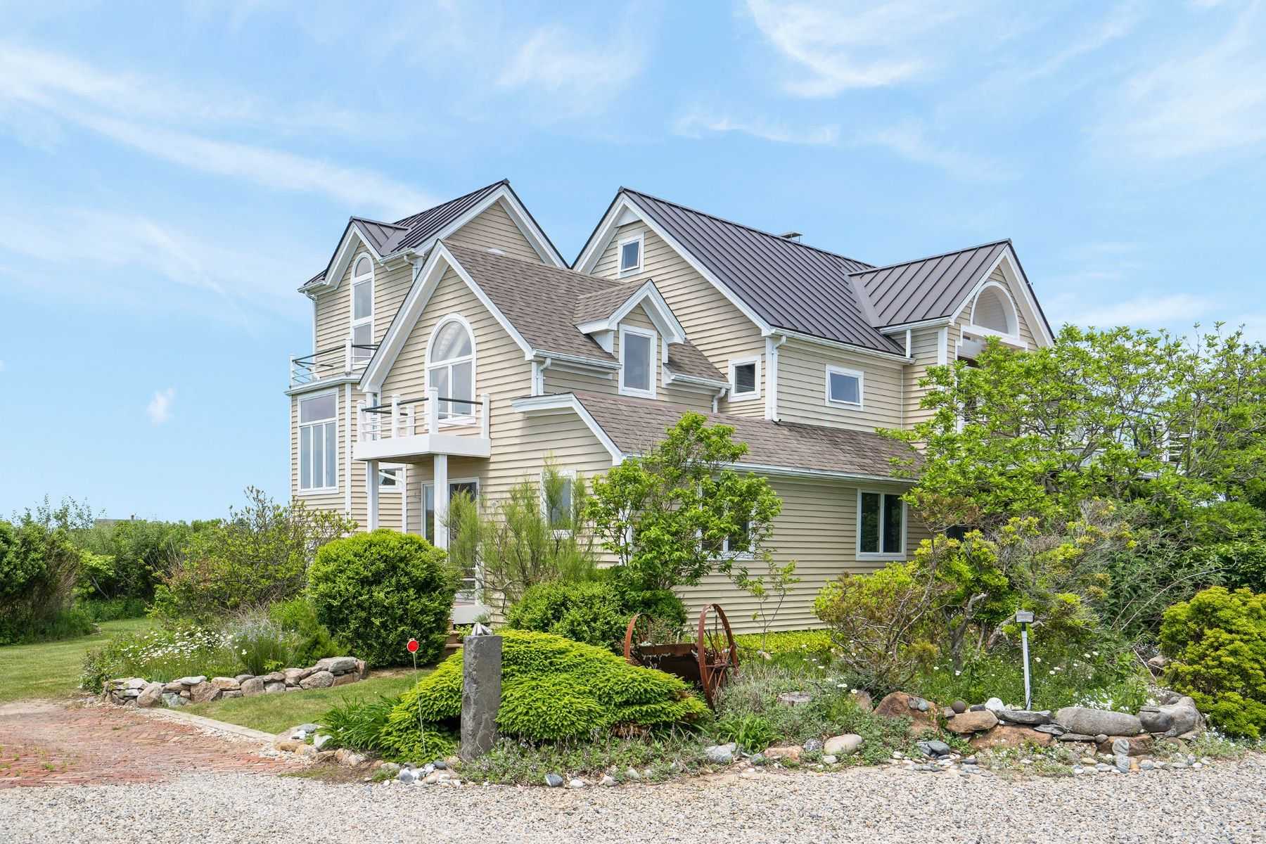 Single Family Homes for Sale at SALT POND SERENITY 1751 Corn Neck Road Block Island, Rhode Island 02807 United States