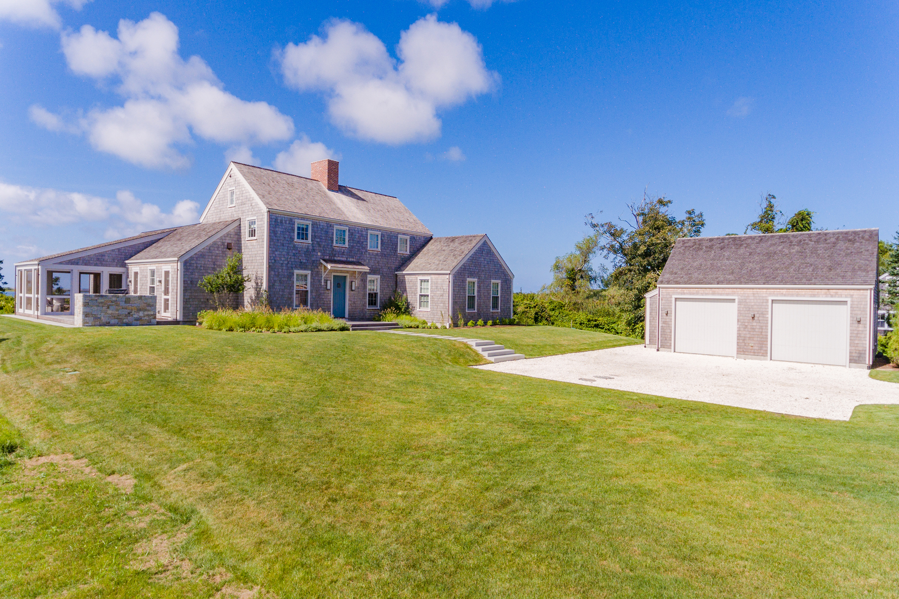 Single Family Homes for Active at Spectacular Views and New Construction in Polpis 250 Polpis Road Nantucket, Massachusetts 02554 United States