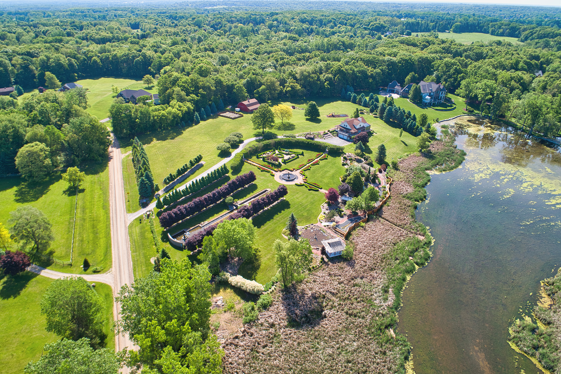 Single Family Homes for Sale at Bruce Township 4700 Raap Road Bruce Township, Michigan 48065 United States