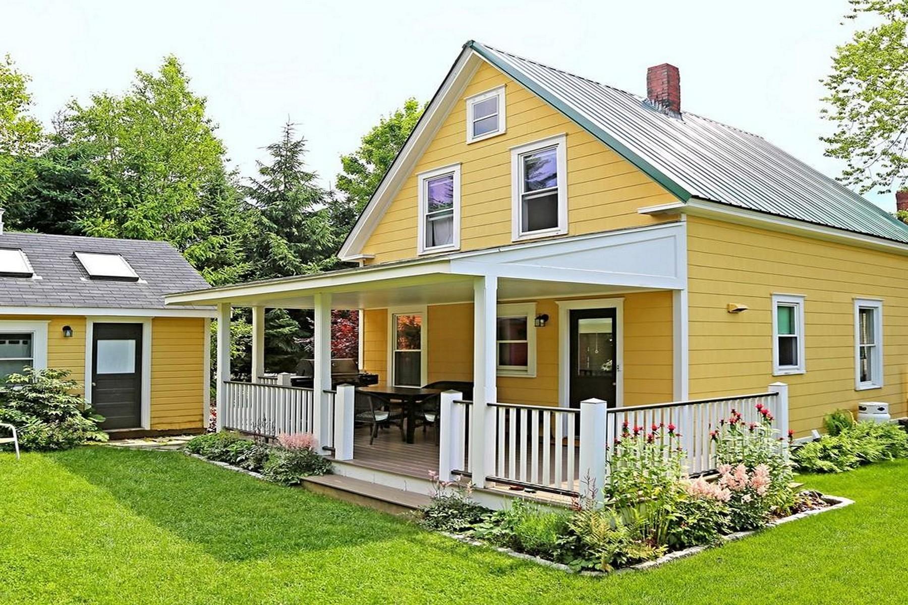 Single Family Homes للـ Sale في The Burrow 5 Stanley Lane, Mount Desert, Maine 04662 United States
