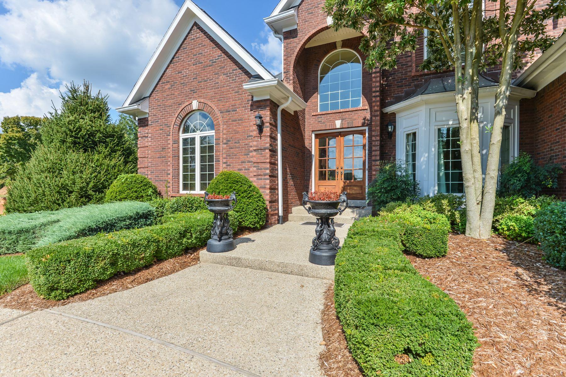 Single Family Homes for Sale at 5403 Farm Ridge Lane Prospect, Kentucky 40059 United States