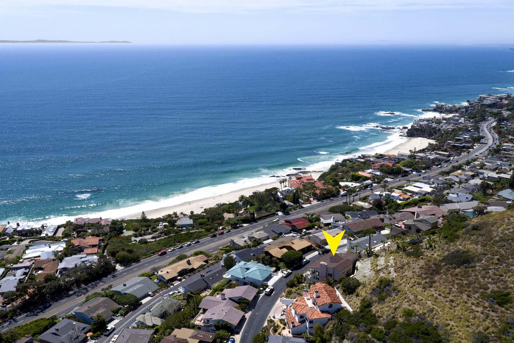 Casa para uma família para Venda às 11 N. Vista De Catalina Laguna Beach, Califórnia, 92651 Estados Unidos
