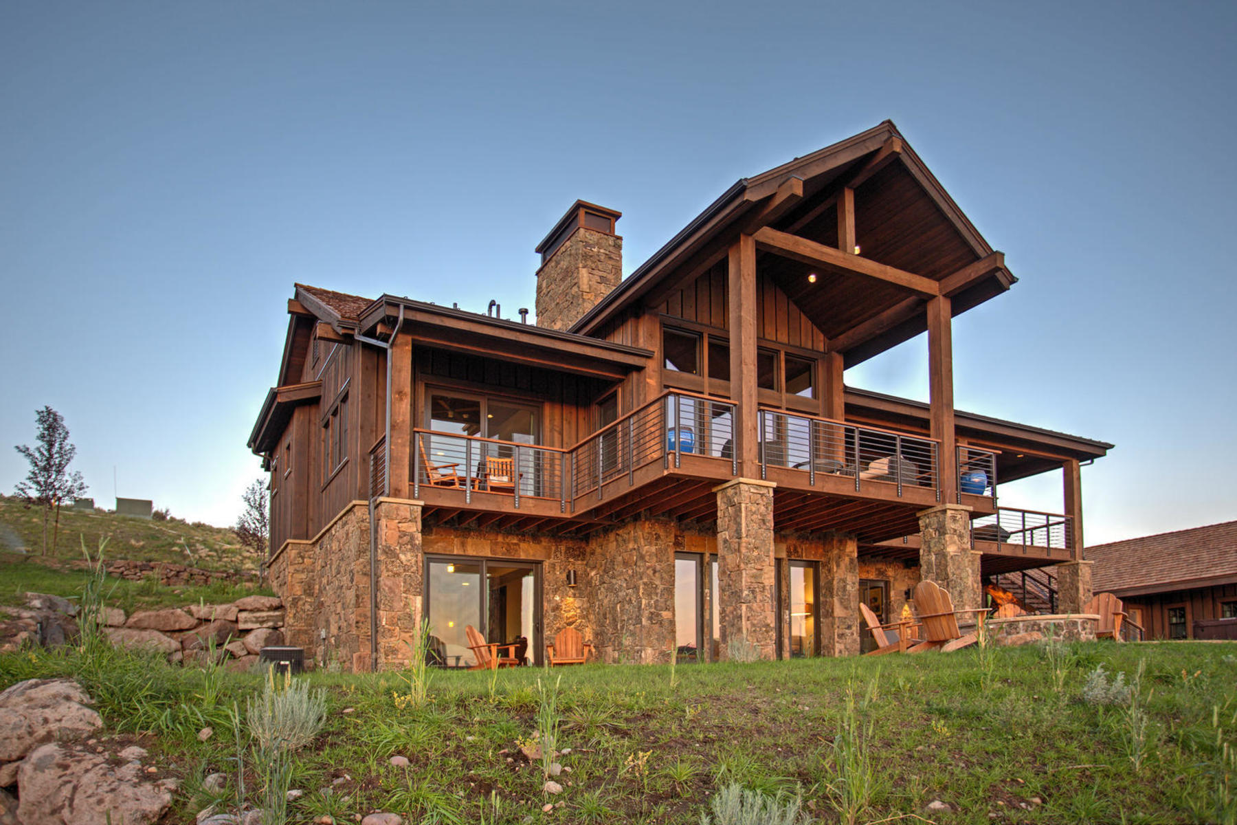 Single Family Home for Sale at Juniper Cabin with Spectacular Views 6889 E Falling Star Cir Lot 263, Heber City, Utah, 84032 United States