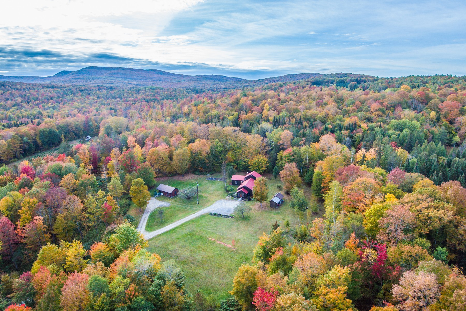 Single Family Homes for Sale at 1714 Vertical Mile Road, Wheelock 1714 Vertical Mile Rd Wheelock, Vermont 05851 United States