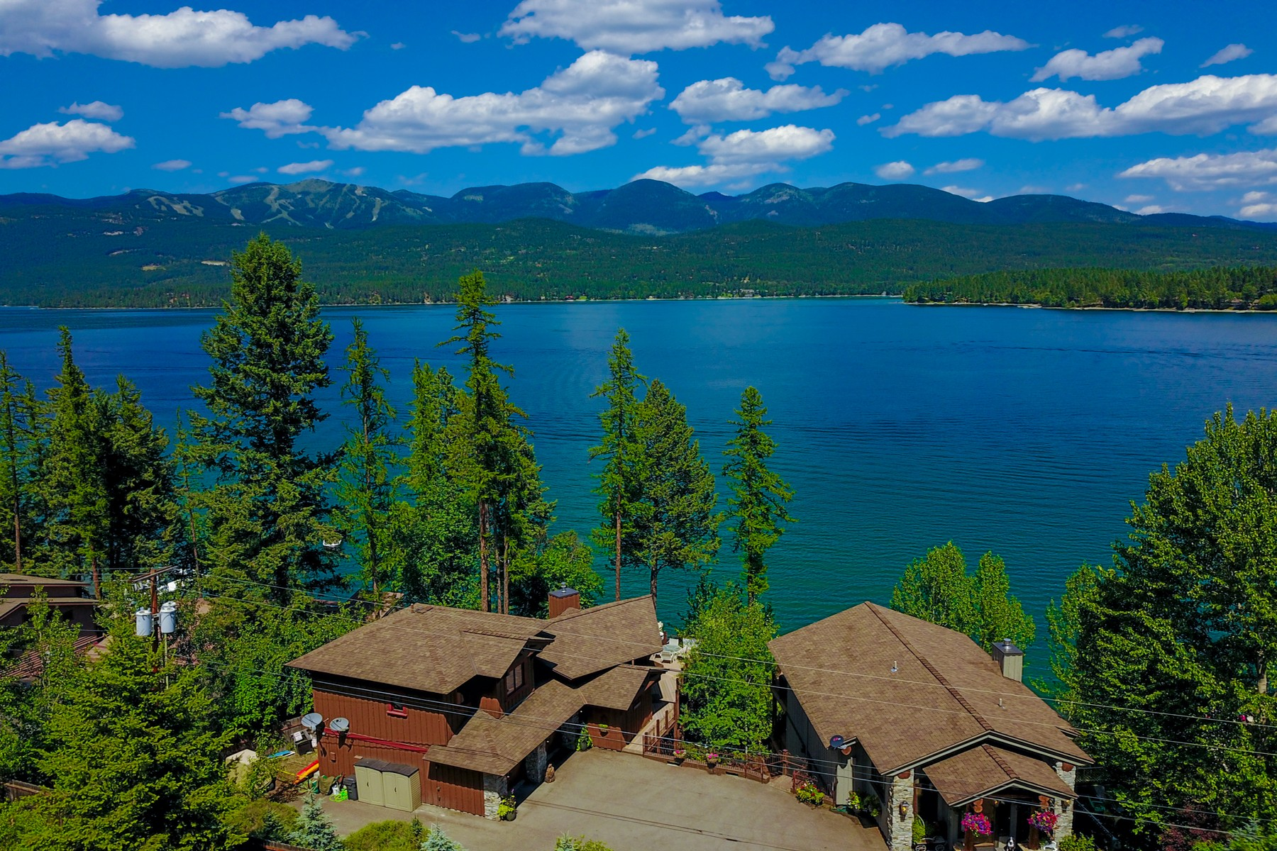 Single Family Homes for Sale at 1290-1292 Birch Point Drive Whitefish, Montana 59937 United States