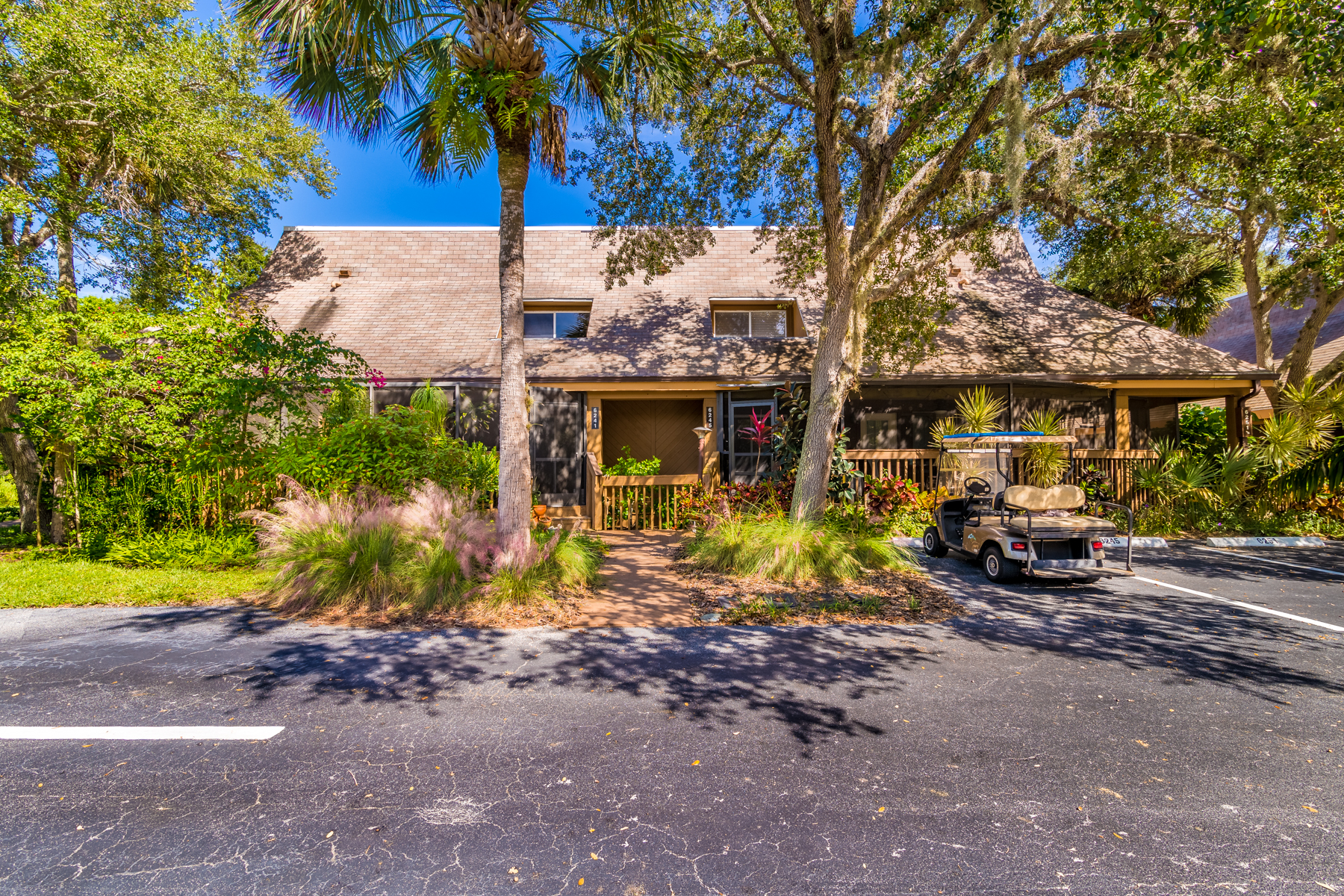 Single Family Home for Sale at Tropical Paradise in Treetop Village 6245 Treetop Drive Melbourne Beach, Florida 32951 United States
