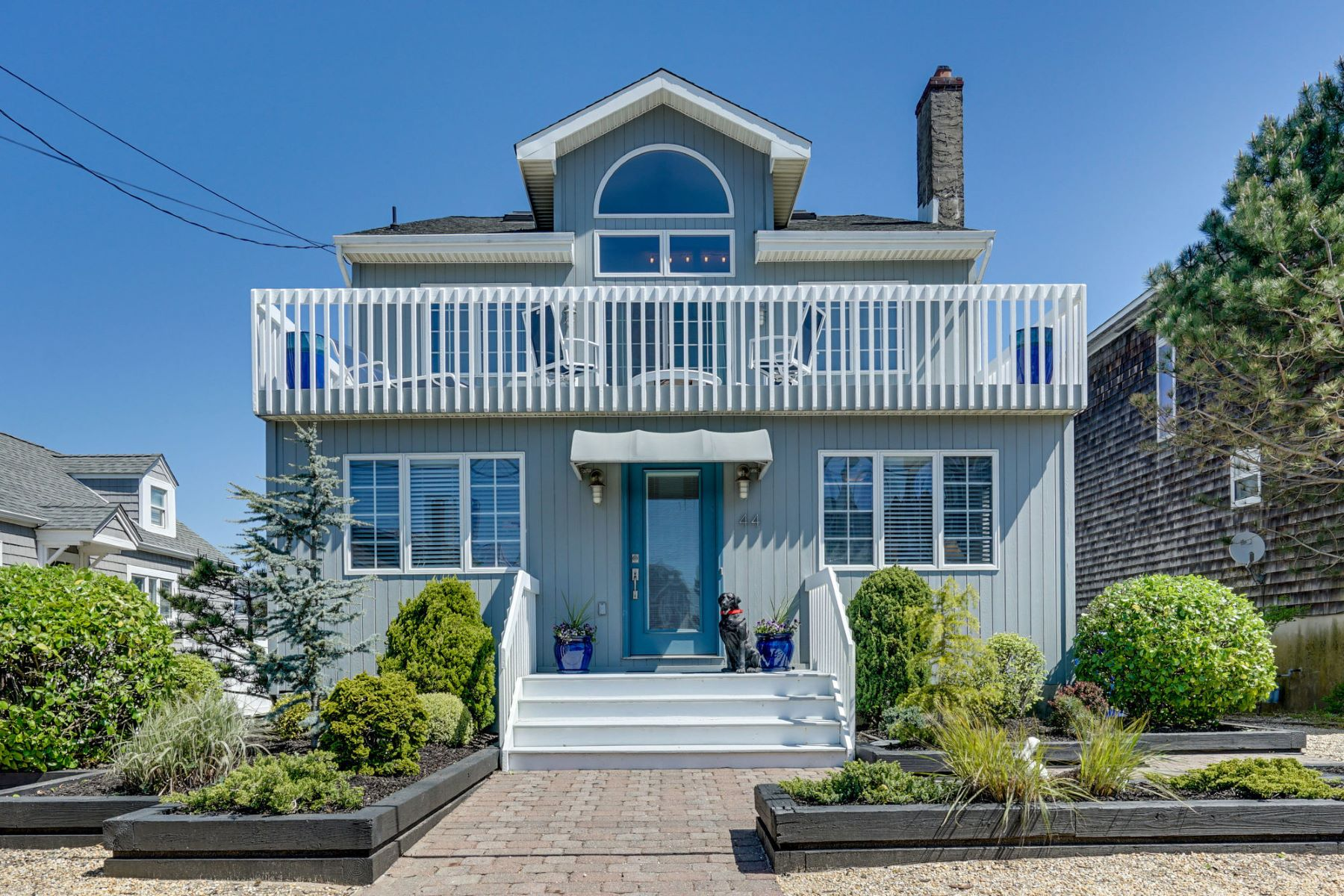 Single Family Homes for Sale at Beautiful Oceanblock Home 44 1st Avenue Normandy Beach, New Jersey 08739 United States