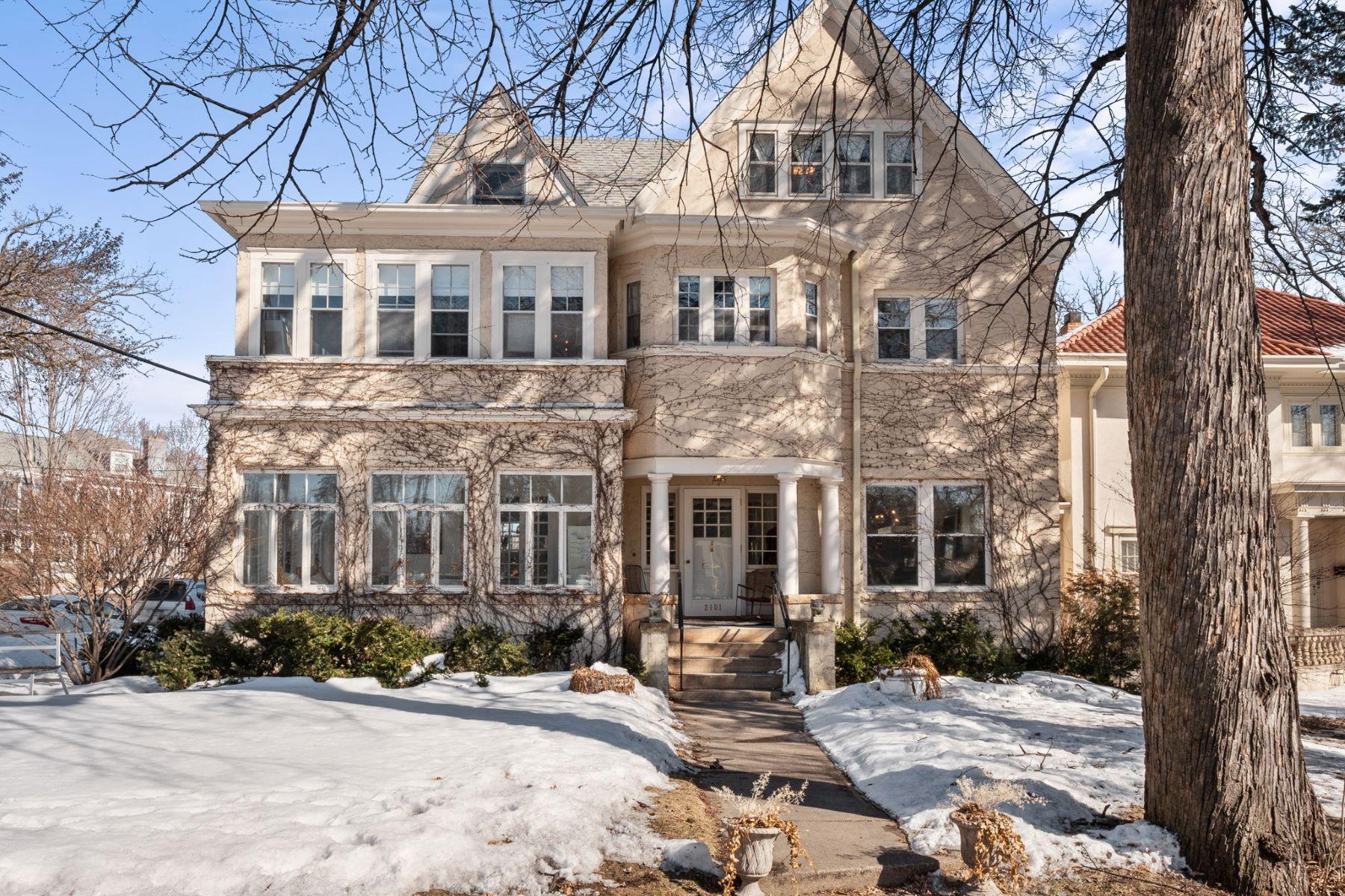 Single Family Homes 为 销售 在 2101 Kenwood Parkway 明尼阿波利斯市, 明尼苏达州 55405 美国