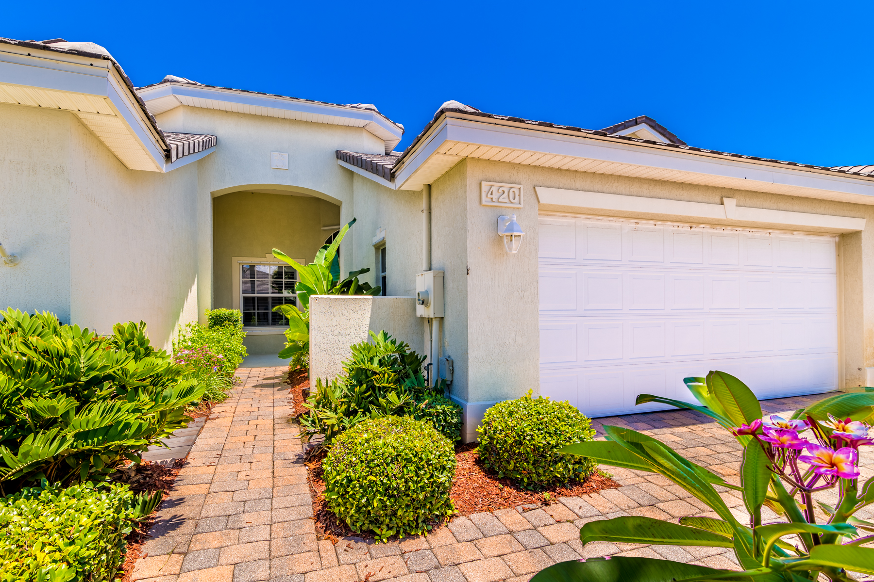 House for Sale at Villa in Sought After, Ocean to River Indian Landing 420 Moray Place Melbourne Beach, Florida 32951 United States