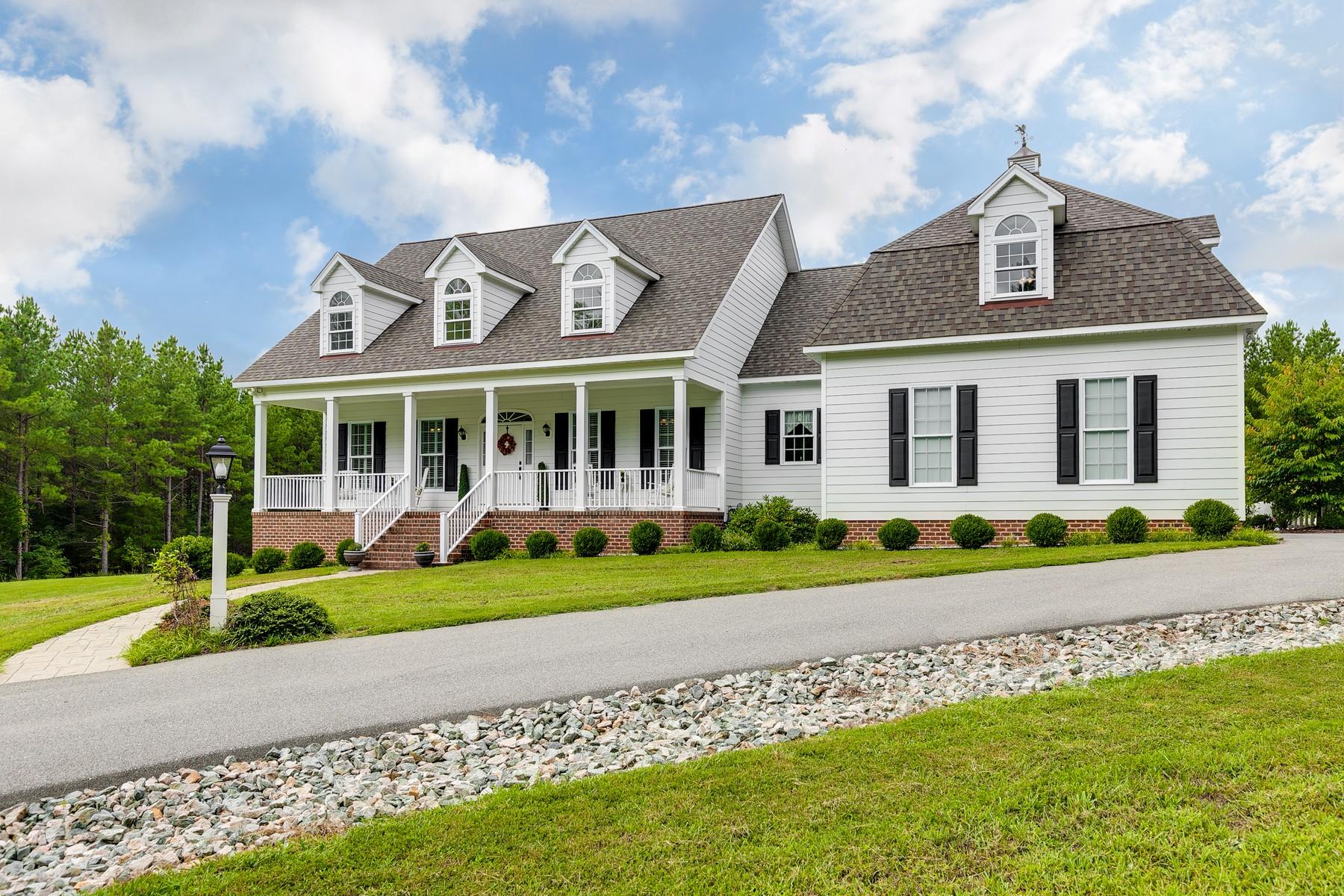 Single Family Homes por un Venta en 3175 Taurman Park Drive Powhatan, Virginia 23139 Estados Unidos