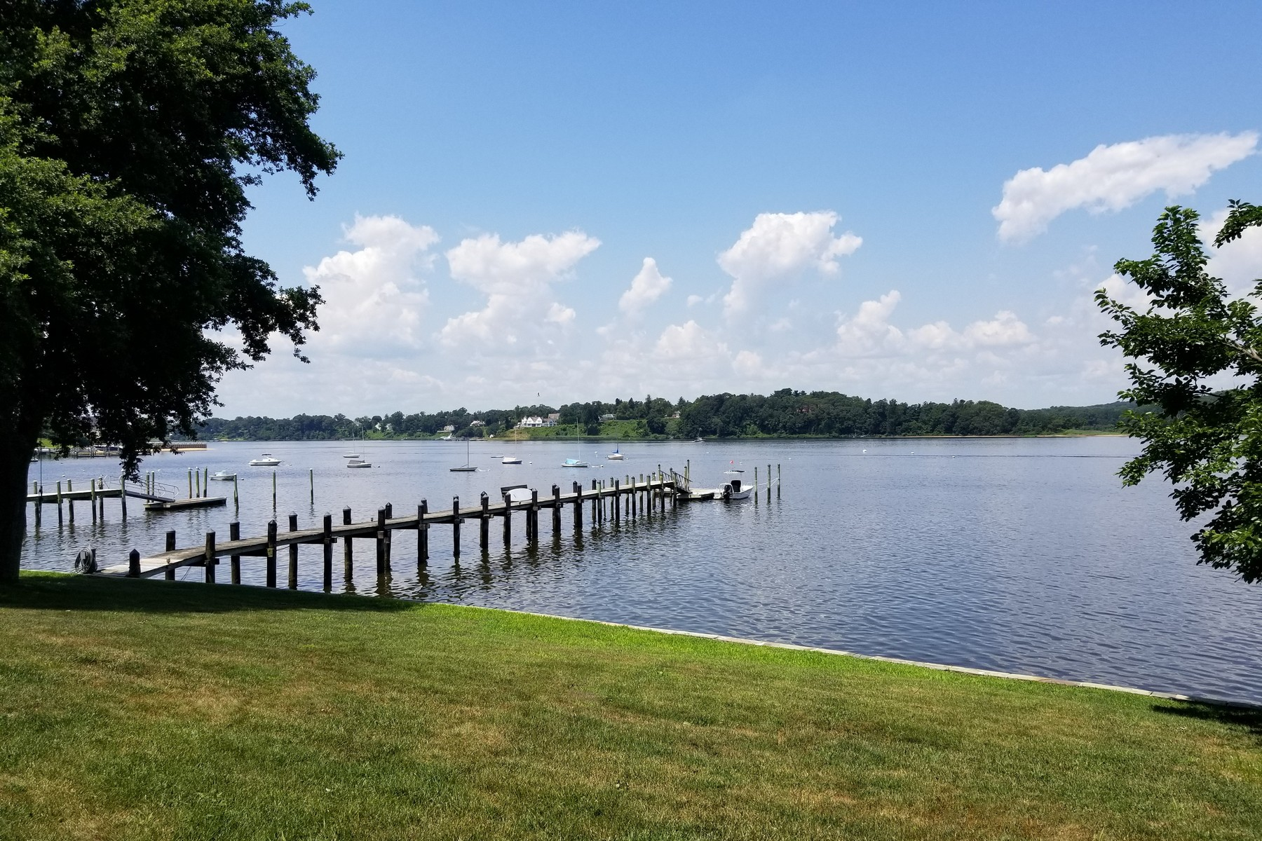 Single Family Homes for Sale at Waterfront Bliss 81 Riverlawn Drive Fair Haven, New Jersey 07704 United States