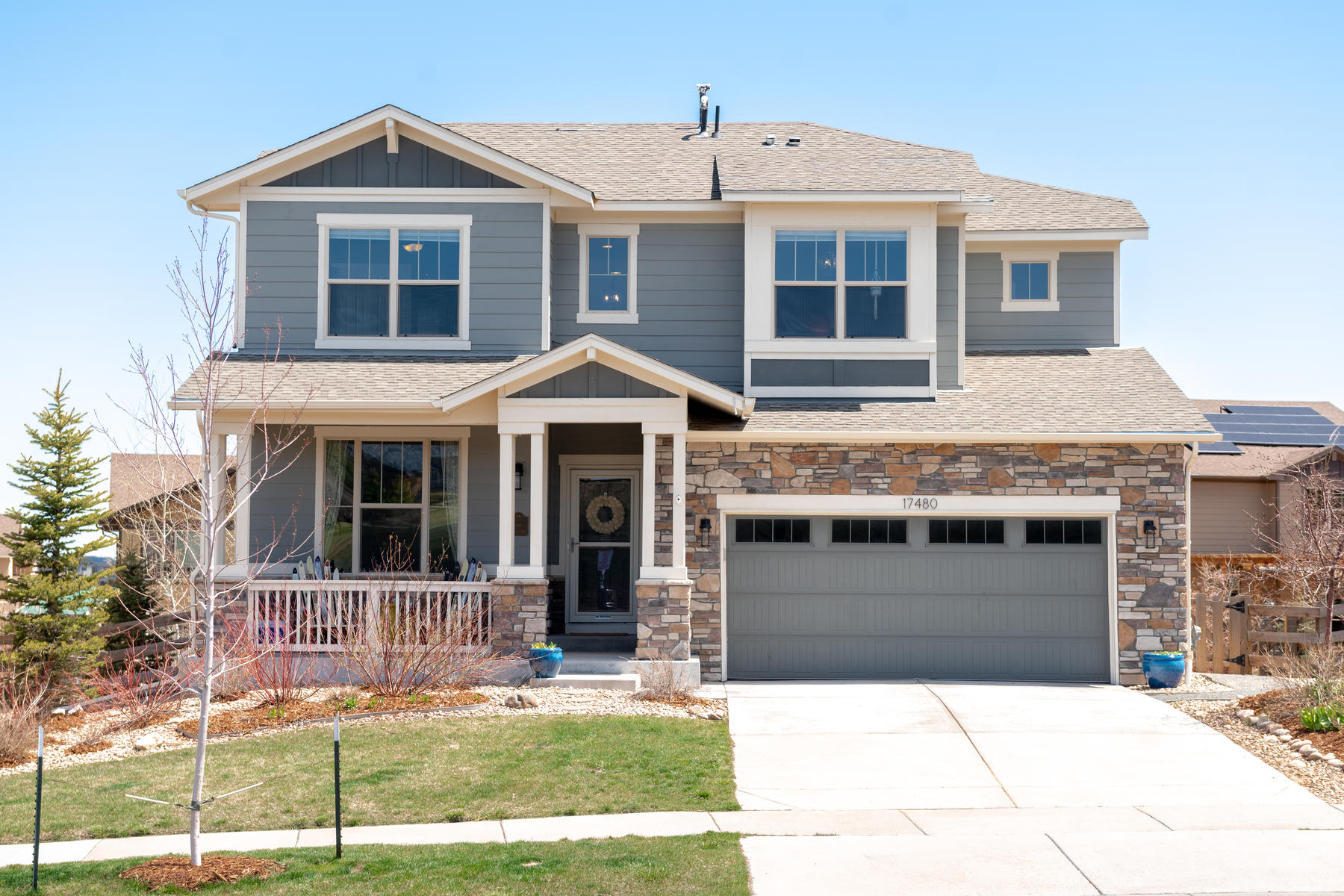 Single Family Homes for Sale at The Combination of the Perfect Floorplan & Stylish Finishes in Leyden Rock 17480 W 83rd Drive Arvada, Colorado 80007 United States