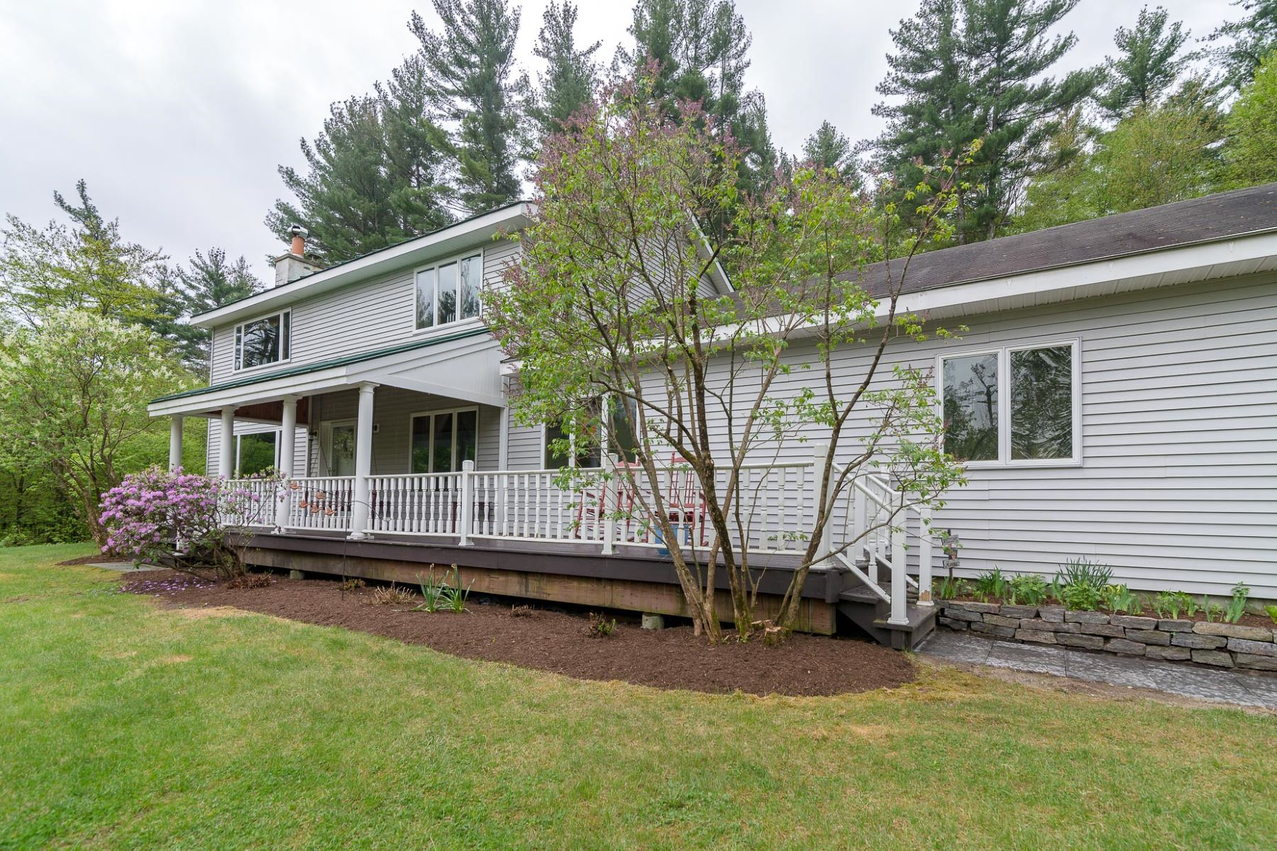 Single Family Homes for Sale at Spacious Colonial with Many Updates 493 Crow Hill Rd Arlington, Vermont 05250 United States