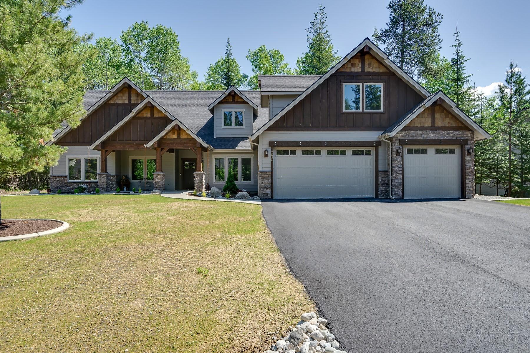 Single Family Homes für Verkauf beim Quality Mountain Elegant home now under construction 15163 S Chalone Dr, Coeur D Alene, Idaho 83814 Vereinigte Staaten