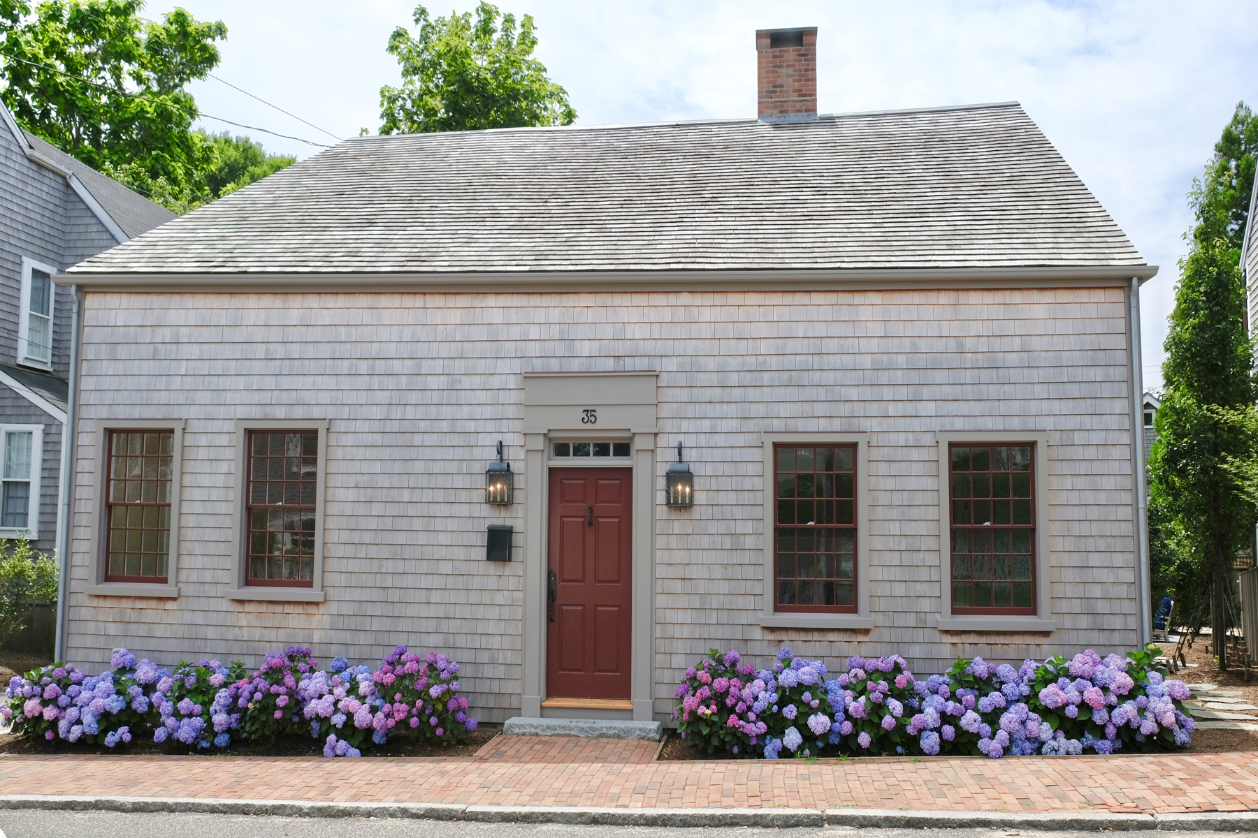 Single Family Home for Sale at Historic Gem Impeccably Rebuilt 35 Pine Street Nantucket, Massachusetts, 02554 United States