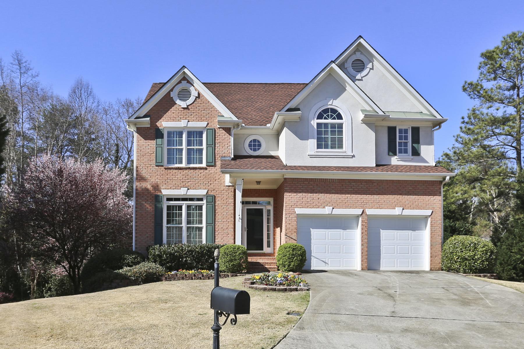 Casa para uma família para Venda às Sandy Springs Easy Living 1040 Lancaster Walk Sandy Springs, Geórgia, 30328 Estados Unidos