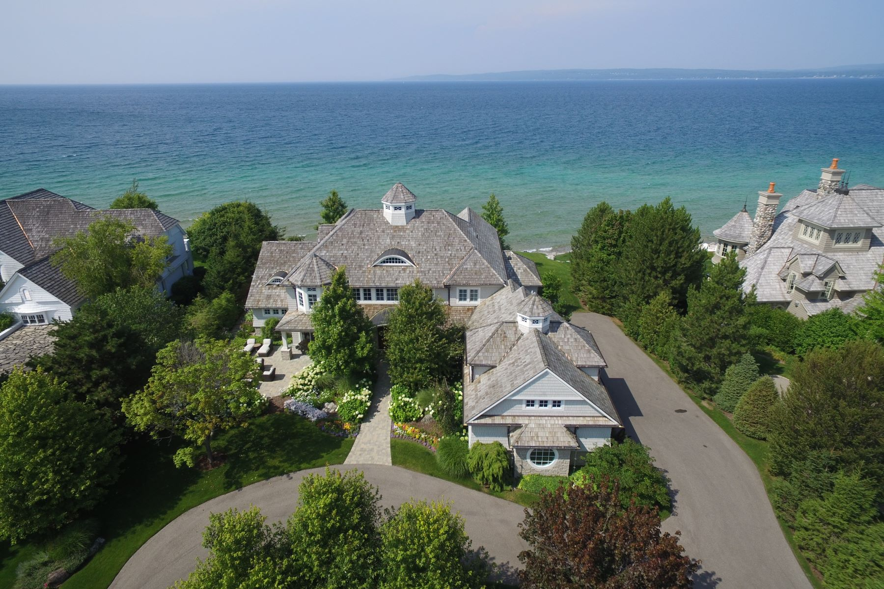Single Family Homes for Sale at Peninsula 20 3970 Peninsula Drive Bay Harbor, Michigan 49770 United States