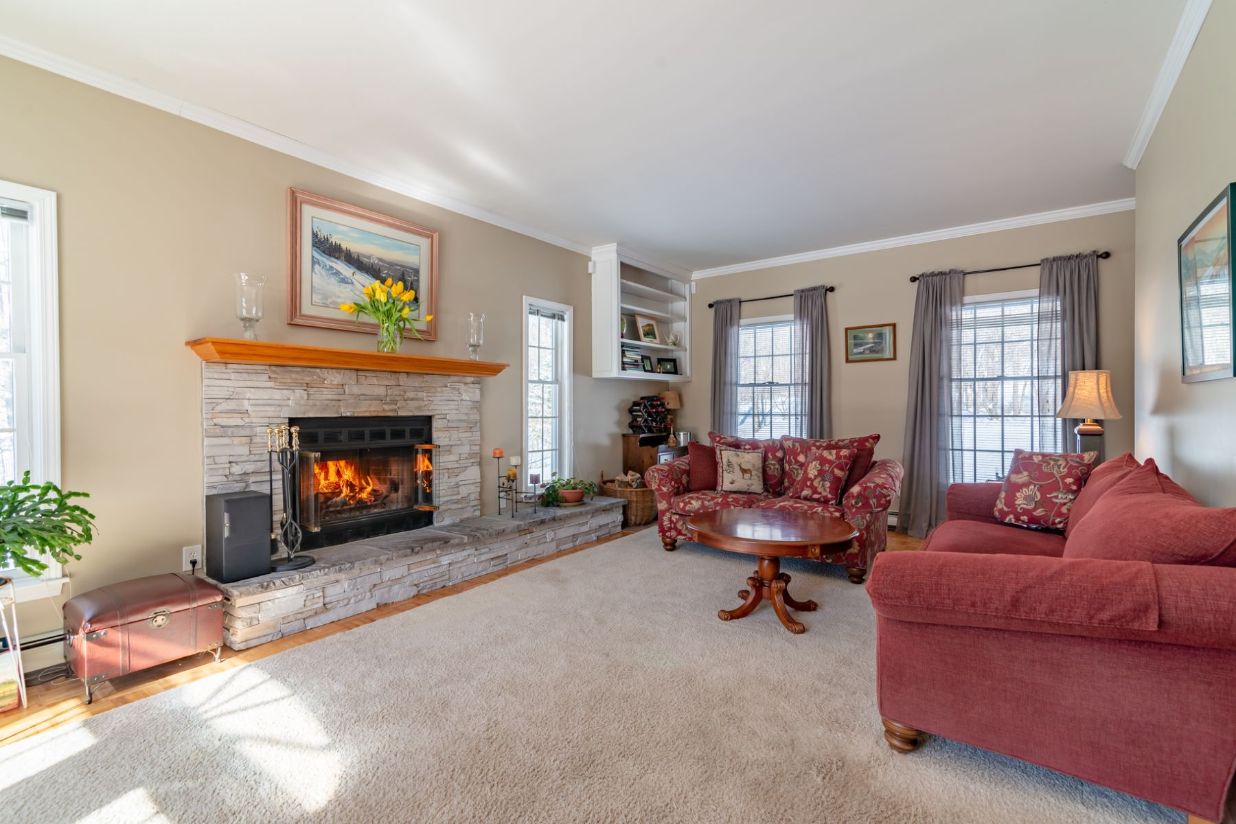 Single Family Homes for Sale at Privacy with Mountain Views 146 Rabbit Run Arlington, Vermont 05250 United States