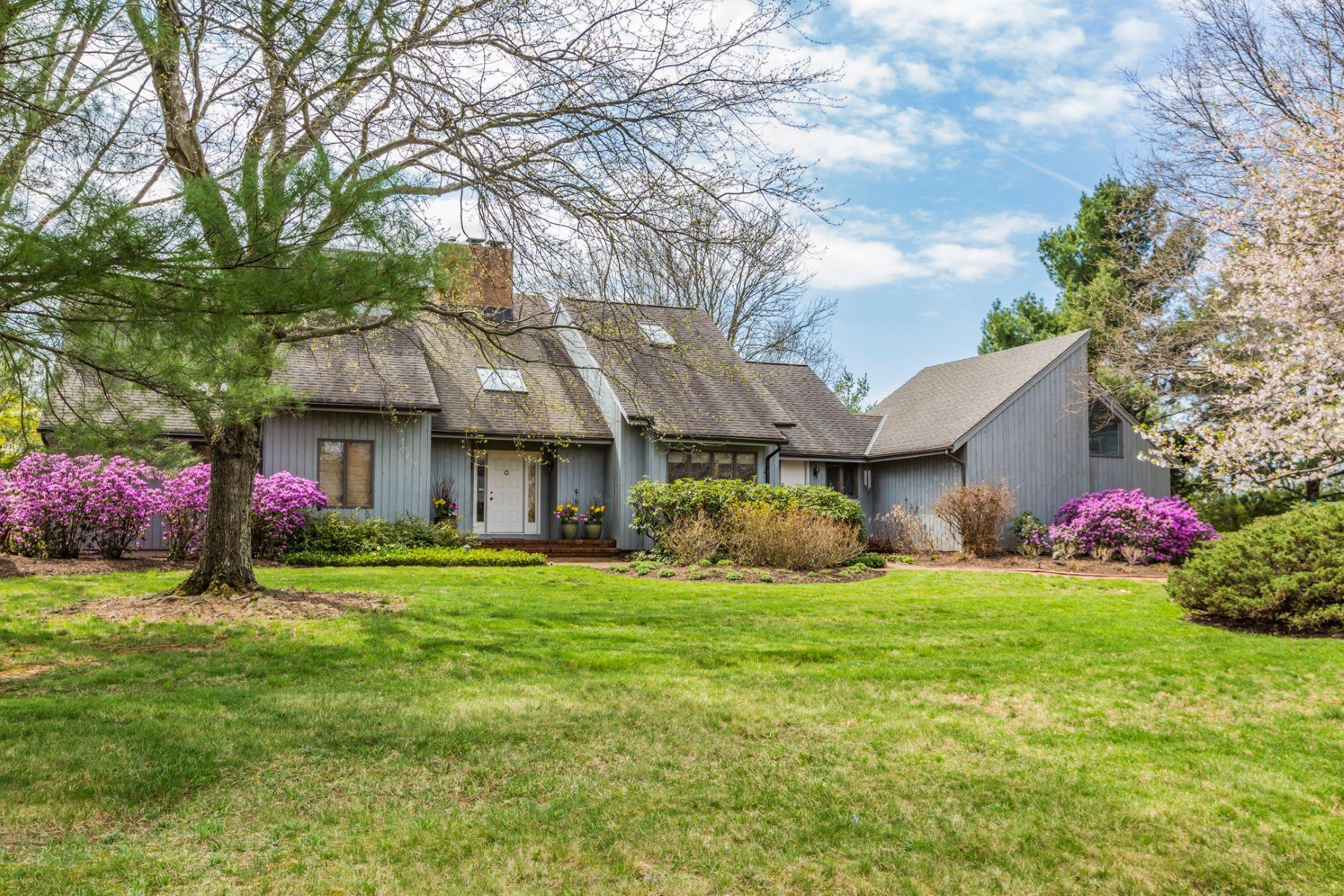 Einfamilienhaus für Verkauf beim Sunlit Spaces in this Stunning Contemporary - Montgomery Township 25 Coppervail Court Princeton, New Jersey, 08540 Vereinigte Staaten