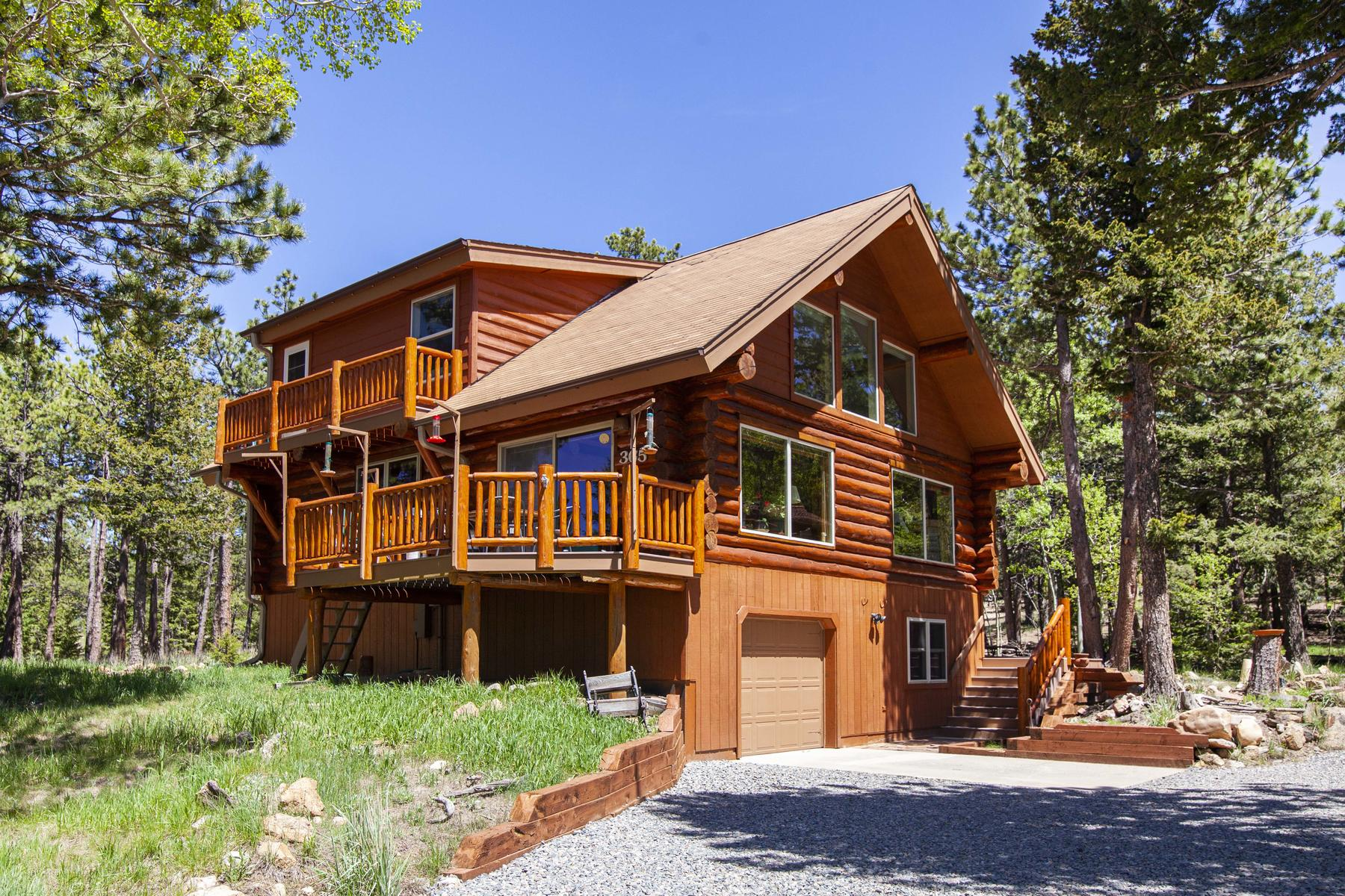 Single Family Homes for Sale at Surround Yourself With Luxury, Views And Nature 365 Overland Dr, Ward, Colorado 80481 United States