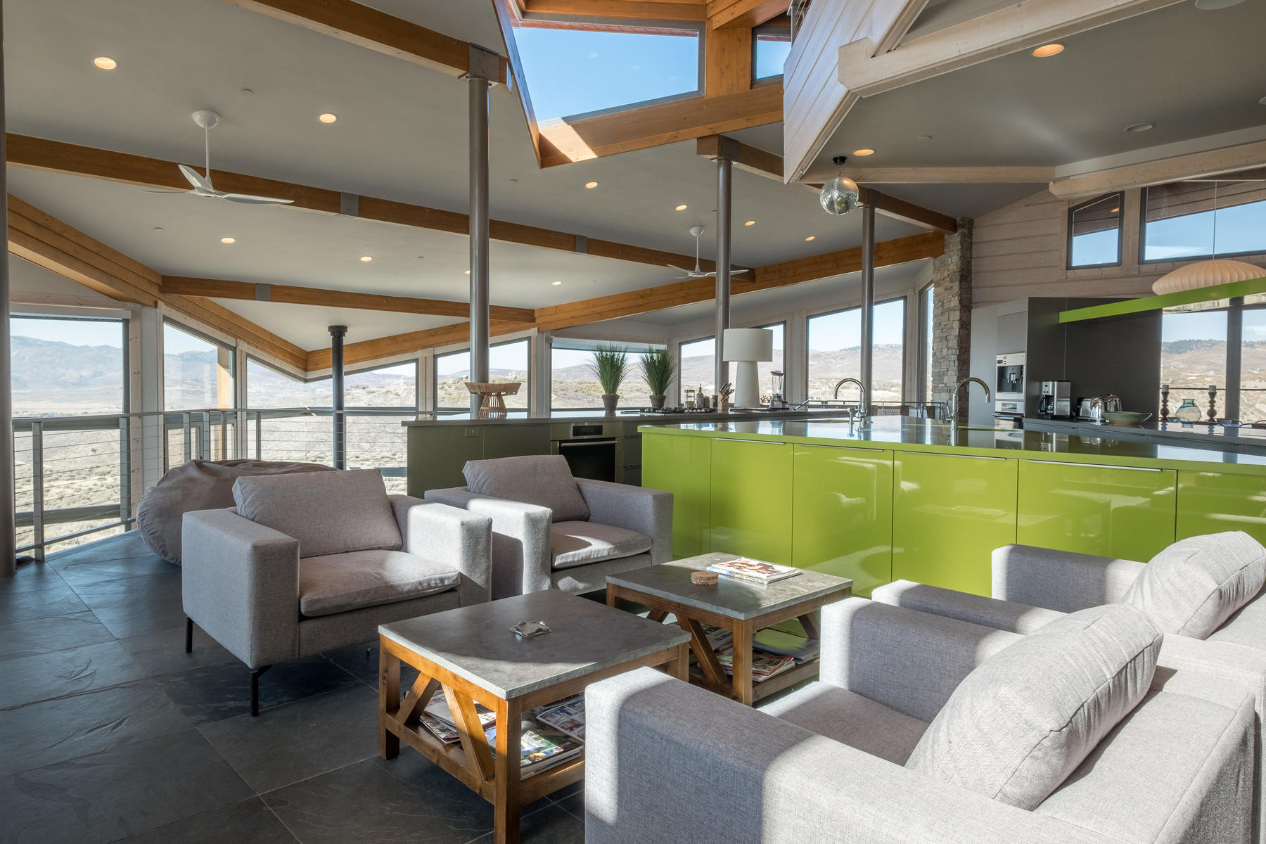 Additional photo for property listing at Timeless Modern Contemporary Home in Promontory 7871 N West Hills Trail Lot 58 Park City, Utah 84098 United States