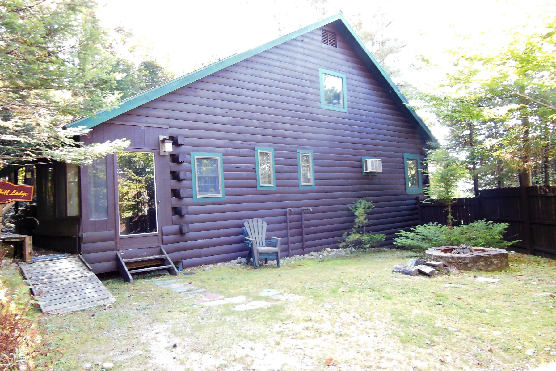 Additional photo for property listing at Year-round Log Home with Commercial Potential 103 Hollywood Rd. Old Forge, New York 13420 United States