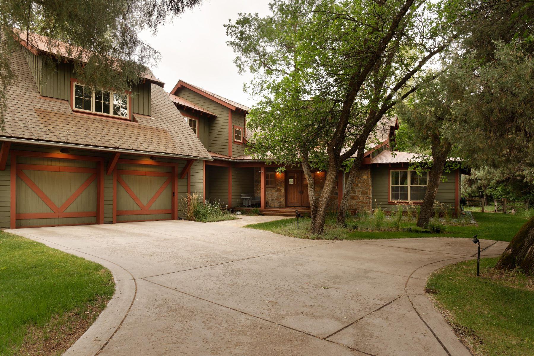 Single Family Home for Sale at River Oaks 100 River Oaks Lane Basalt, Colorado, 81621 United States
