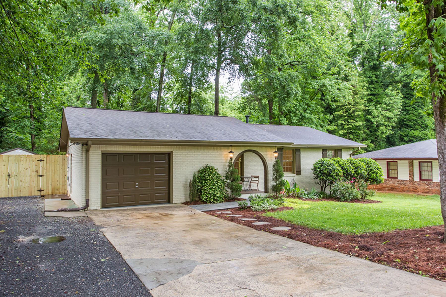 Single Family Home for Sale at Charming Decatur Ranch on Beautiful Lot 2360 Eiffel Ct Decatur, Georgia 30032 United States