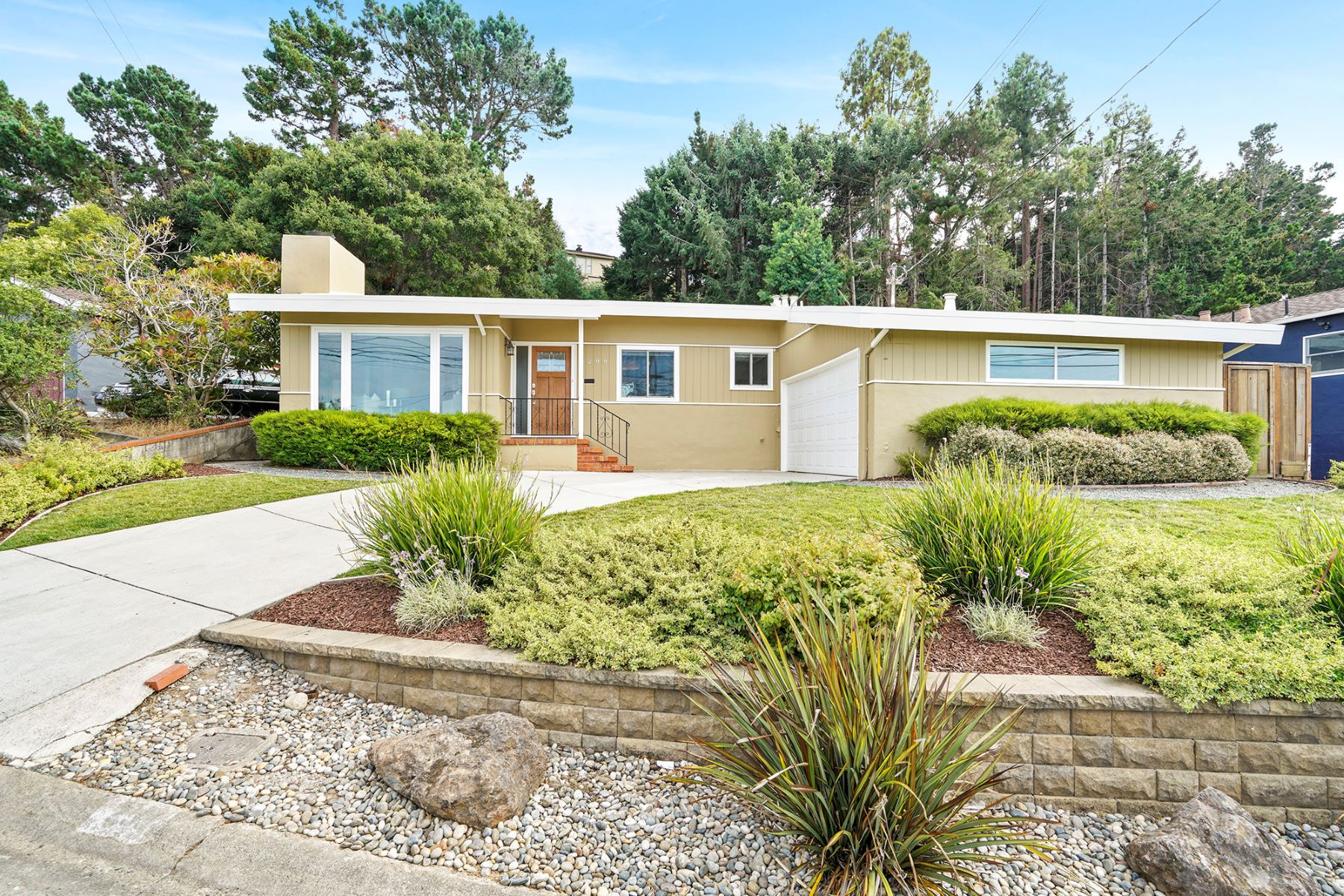 Single Family Homes for Active at Alluring Rancher with Commanding Views 299 41st Avenue San Mateo, California 94403 United States