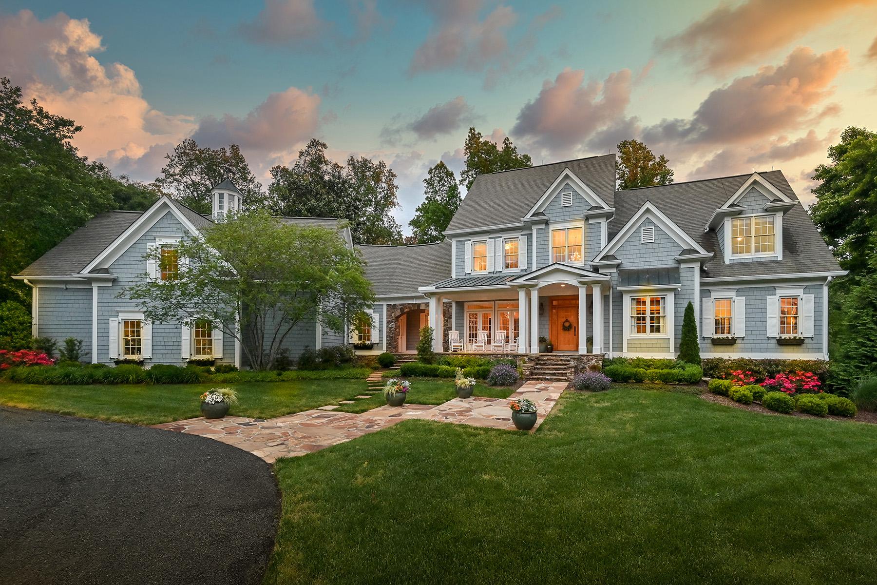 Granjas / Hacienda / Platanción por un Venta en Impressive Equestrian Estate 1050 Meadowview Road Roswell, Georgia 30075 Estados Unidos