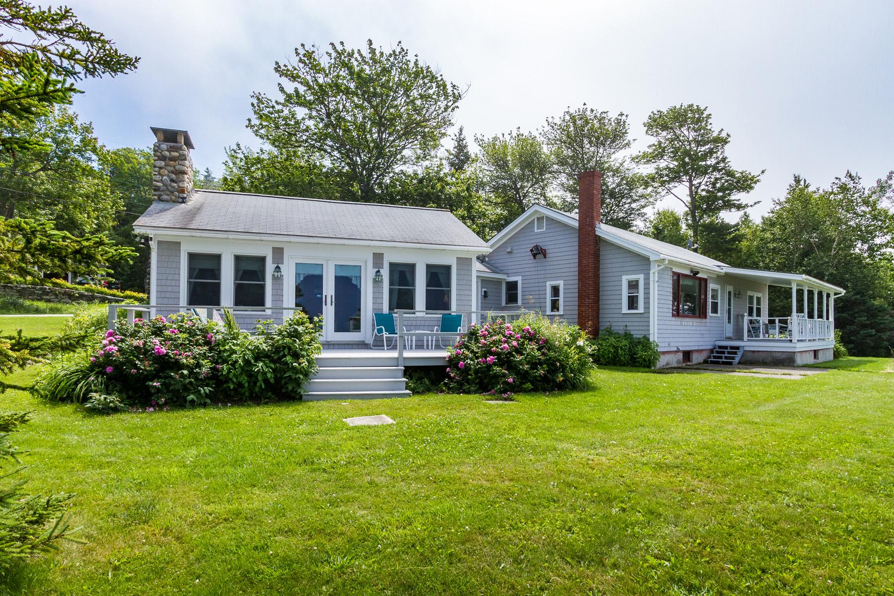 獨棟家庭住宅 為 出售 在 189 Pemaquid Trail Bristol, 緬因州, 04554 美國