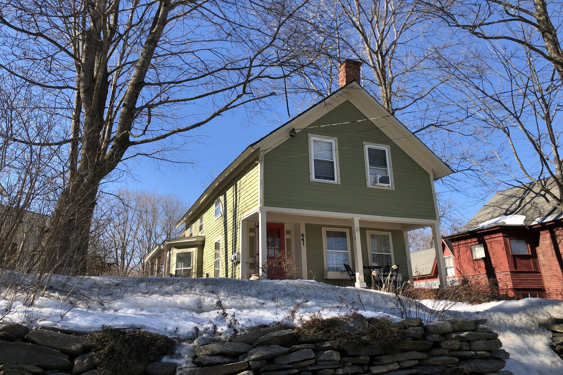 Single Family Home for Sale at 641 Depot Street, Chester 641 Depot St Chester, Vermont 05143 United States