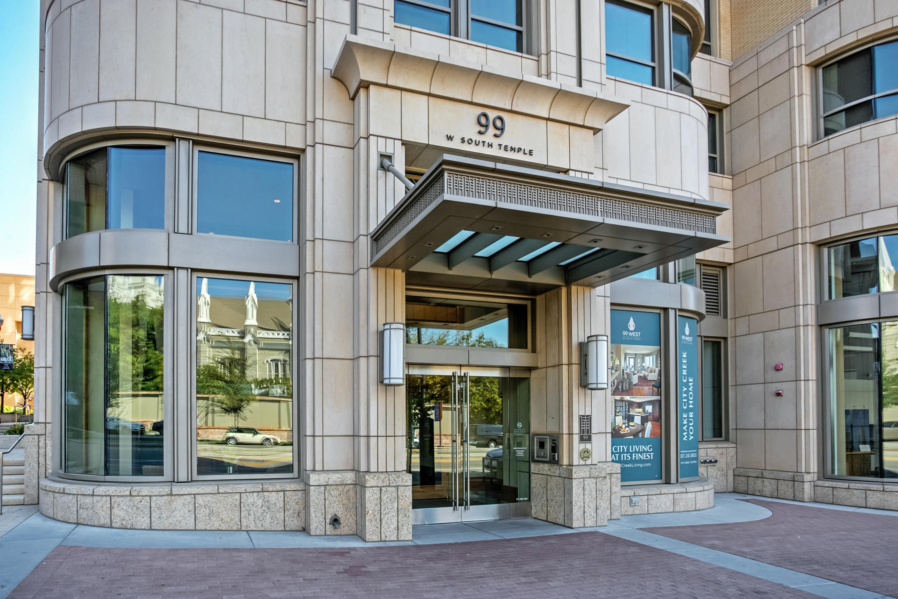 Condominiums for Sale at Gorgeous City Creek Condo on the 22nd Floor 99 W South Temple 2201-2 Salt Lake City, Utah 84101 United States