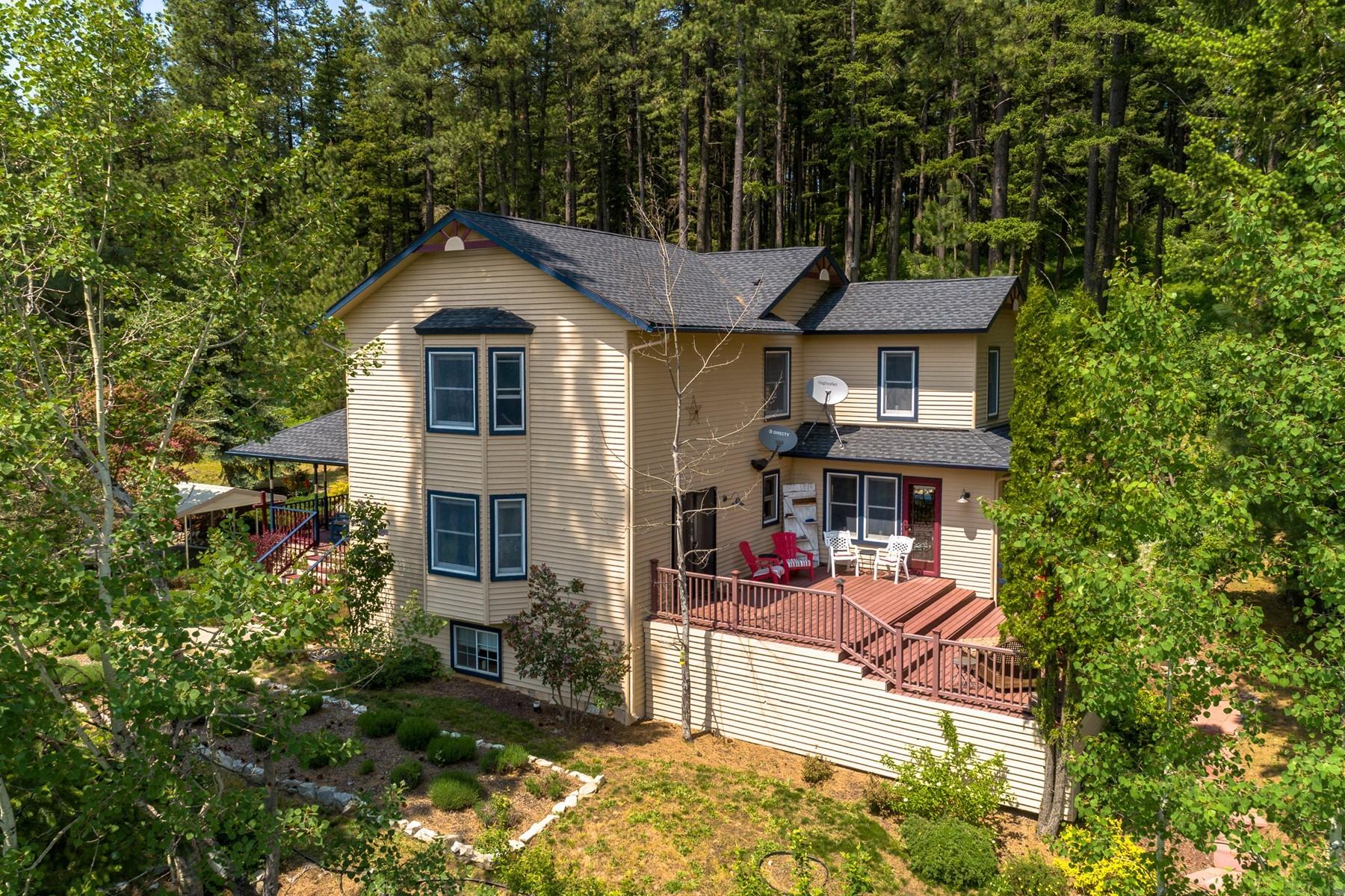 Single Family Homes für Verkauf beim Modern Farmhouse on Acreage 6499 W Dower, Coeur D Alene, Idaho 83814 Vereinigte Staaten
