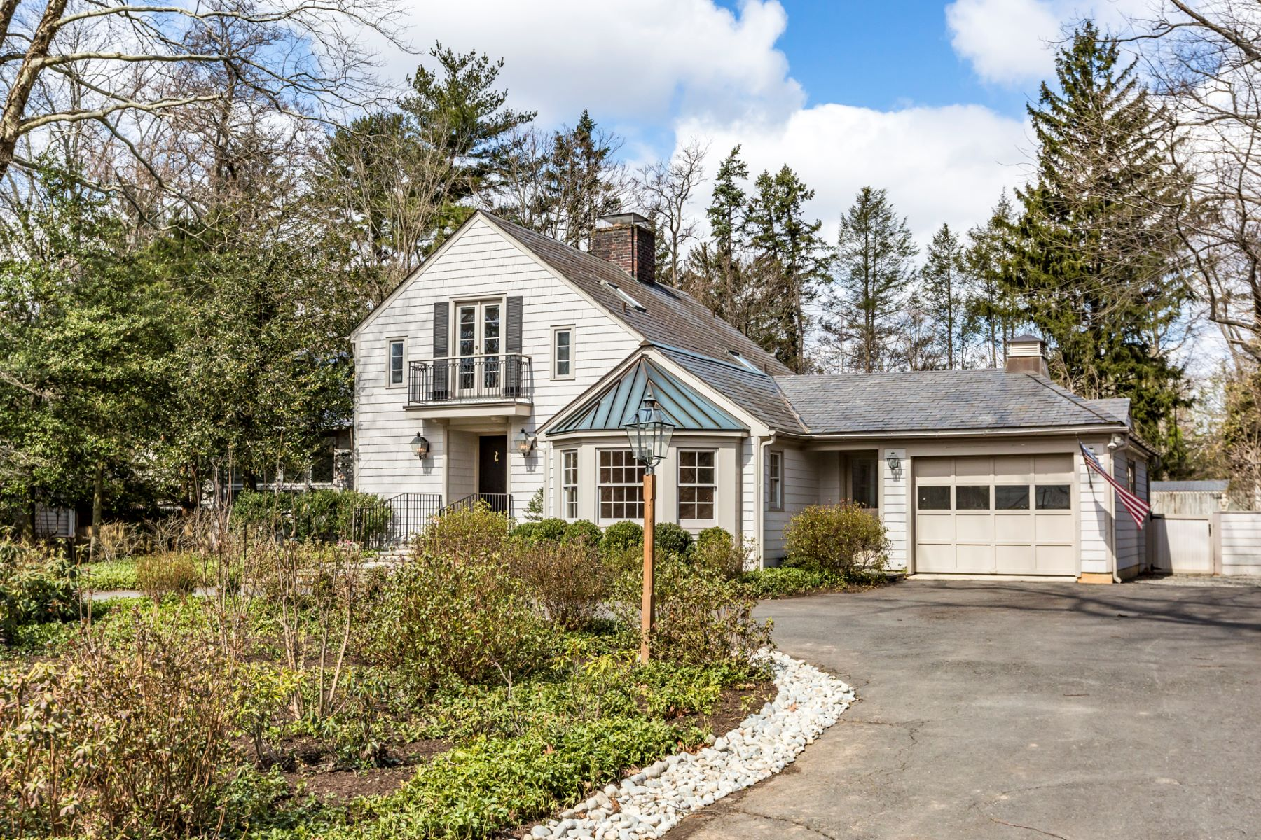 Single Family Home for Sale at Light-Hearted in a Beloved Western Section Enclave 7 Armour Road, Princeton, New Jersey 08540 United States
