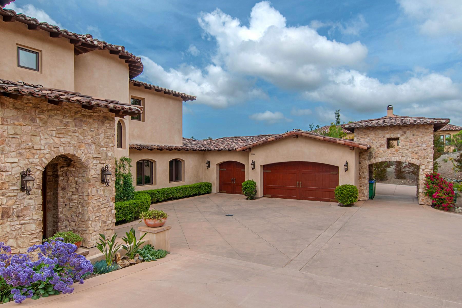 独户住宅 为 销售 在 7258 Camino de Arriba Rancho Santa Fe, 加利福尼亚州, 92067 美国