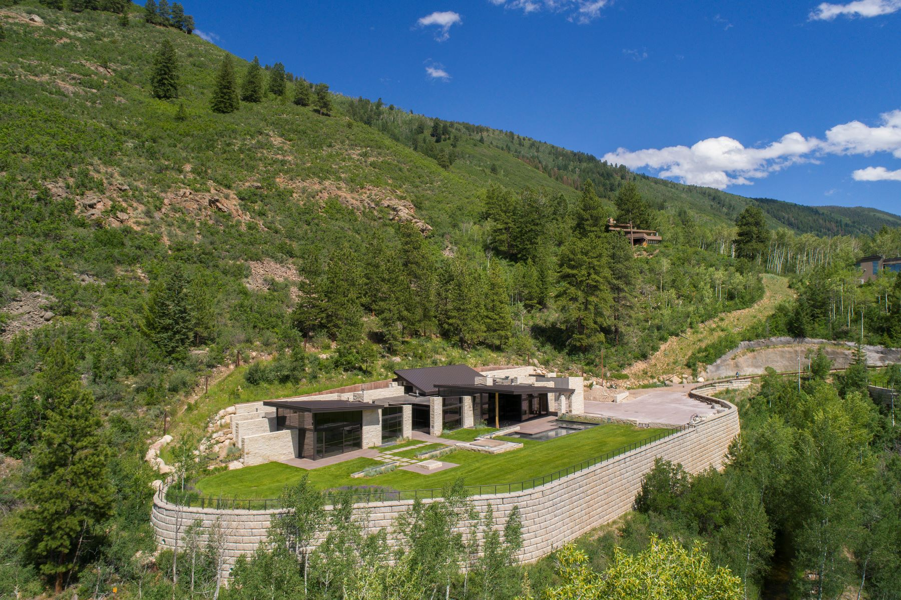 Single Family Homes for Sale at East Aspen Masterpiece 195 Skimming Lane, Aspen, Colorado 81611 United States