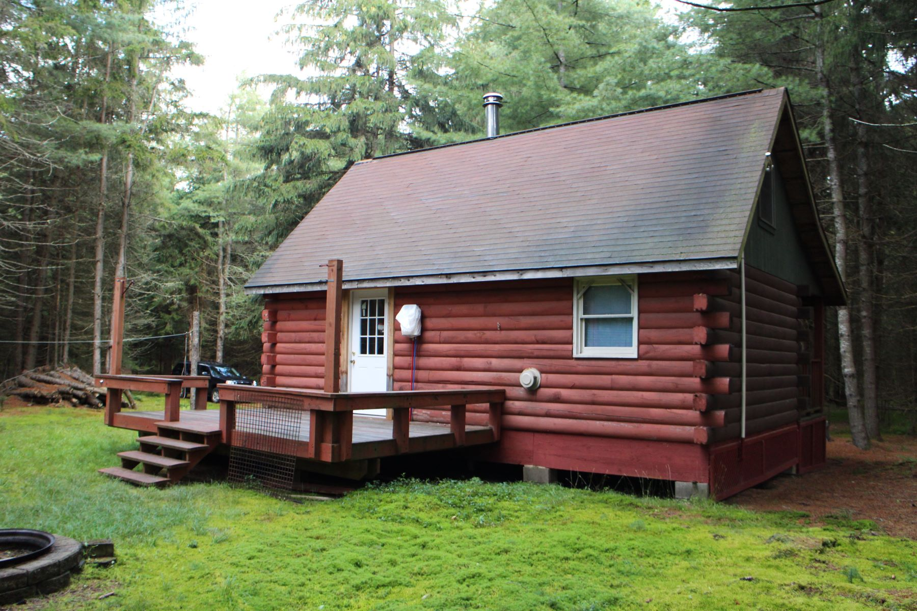 Additional photo for property listing at Log camp in Snowbird Lake area 12486 Meekerville Rd. North Forestport, Nueva York 13338 Estados Unidos