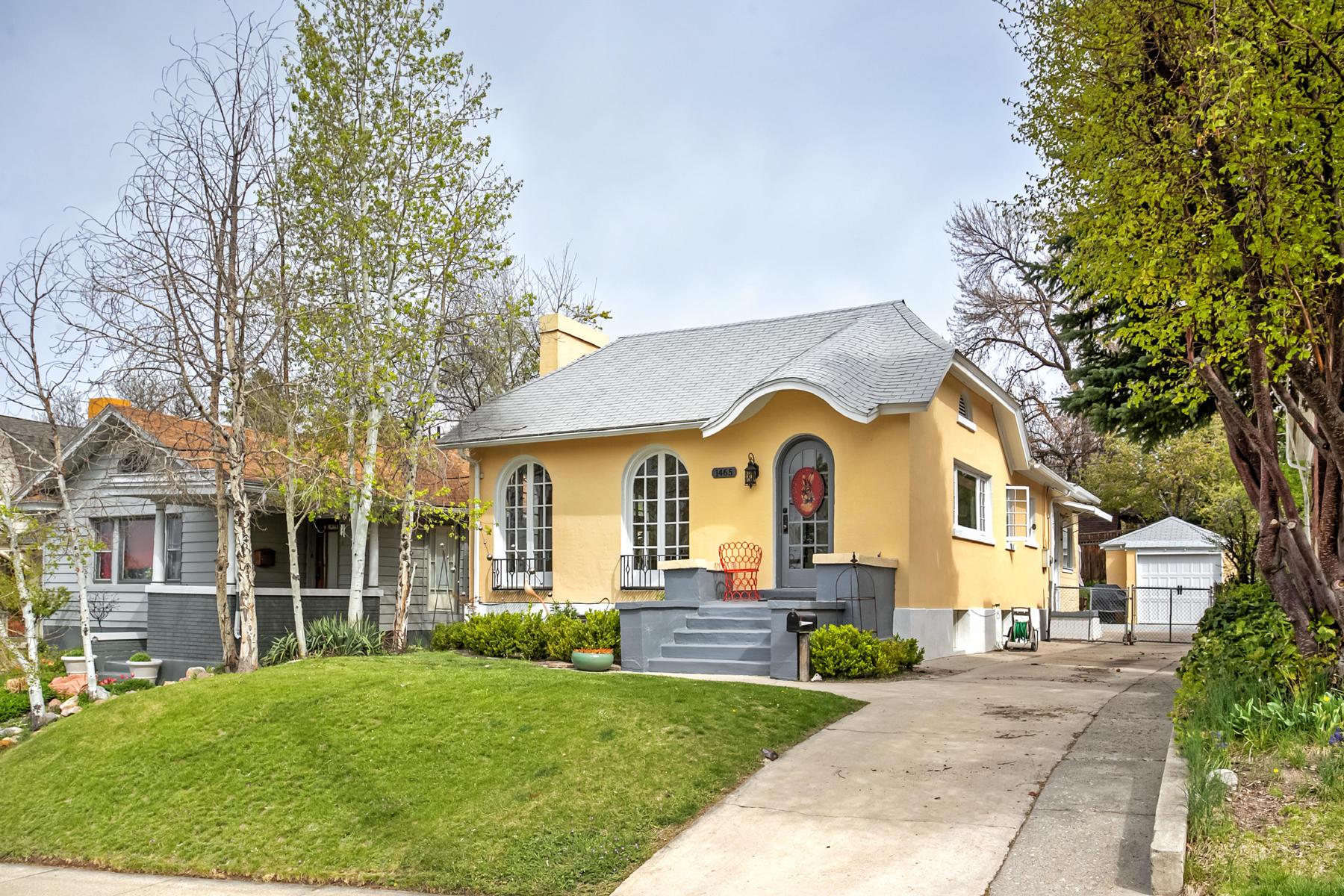 一戸建て のために 売買 アット Charming Remodeled Bungalow 1465 East 1300 South Salt Lake City, ユタ, 84105 アメリカ合衆国