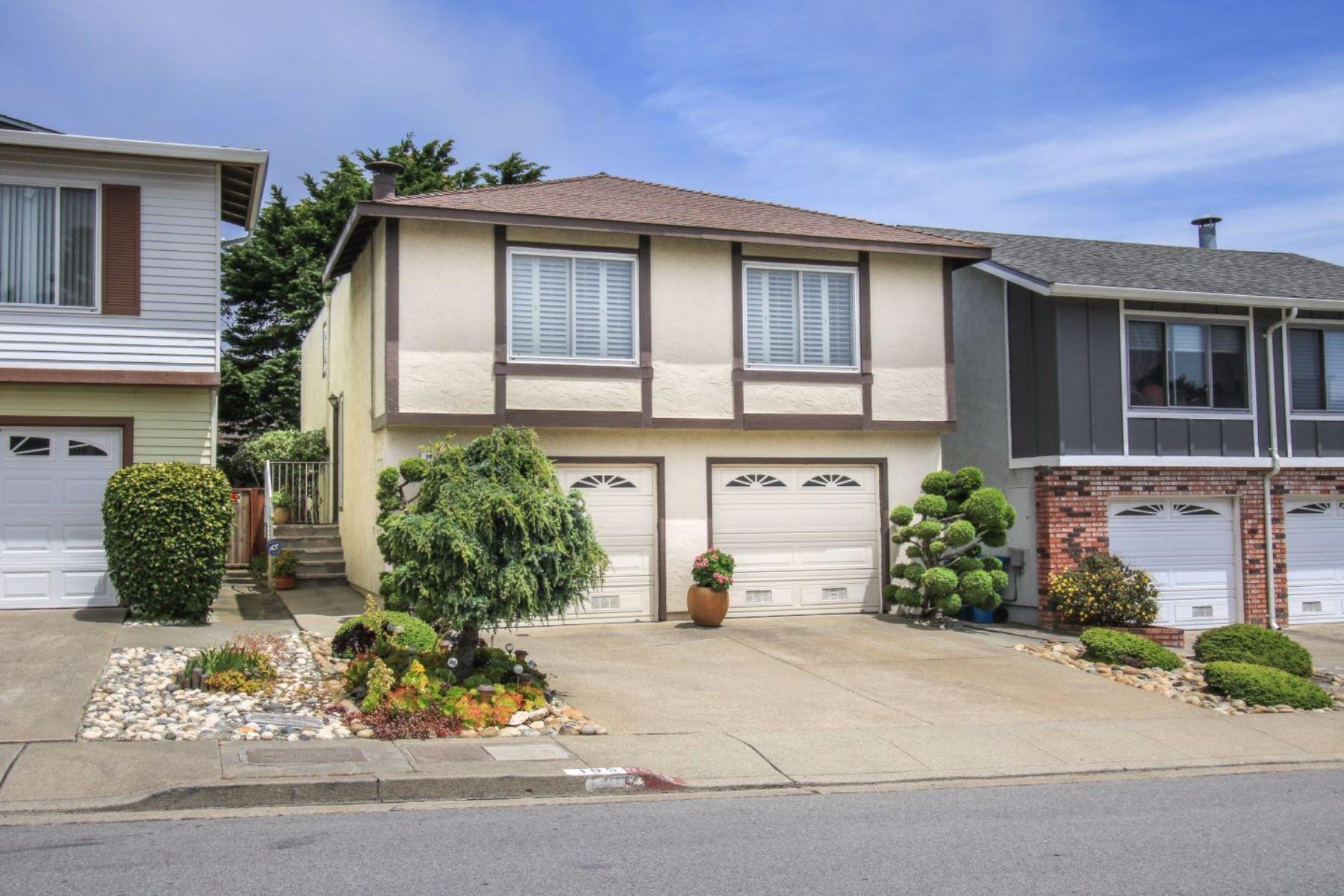 独户住宅 为 销售 在 195 Hampshire Avenue Daly City, 加利福尼亚州 94015 美国