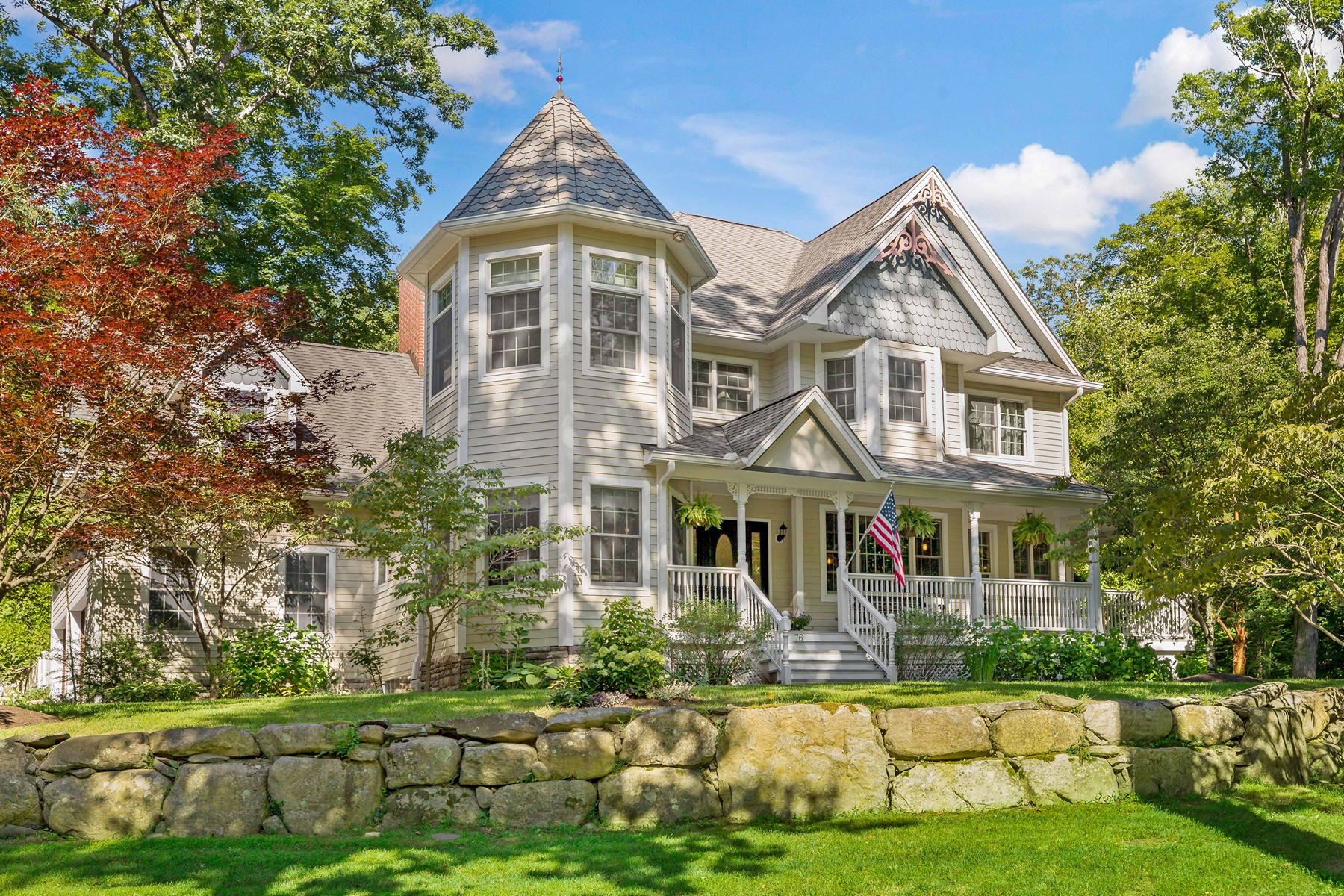 Single Family Homes for Active at Curated Victorian 76 Snake Hill Road Garrison, New York 10524 United States
