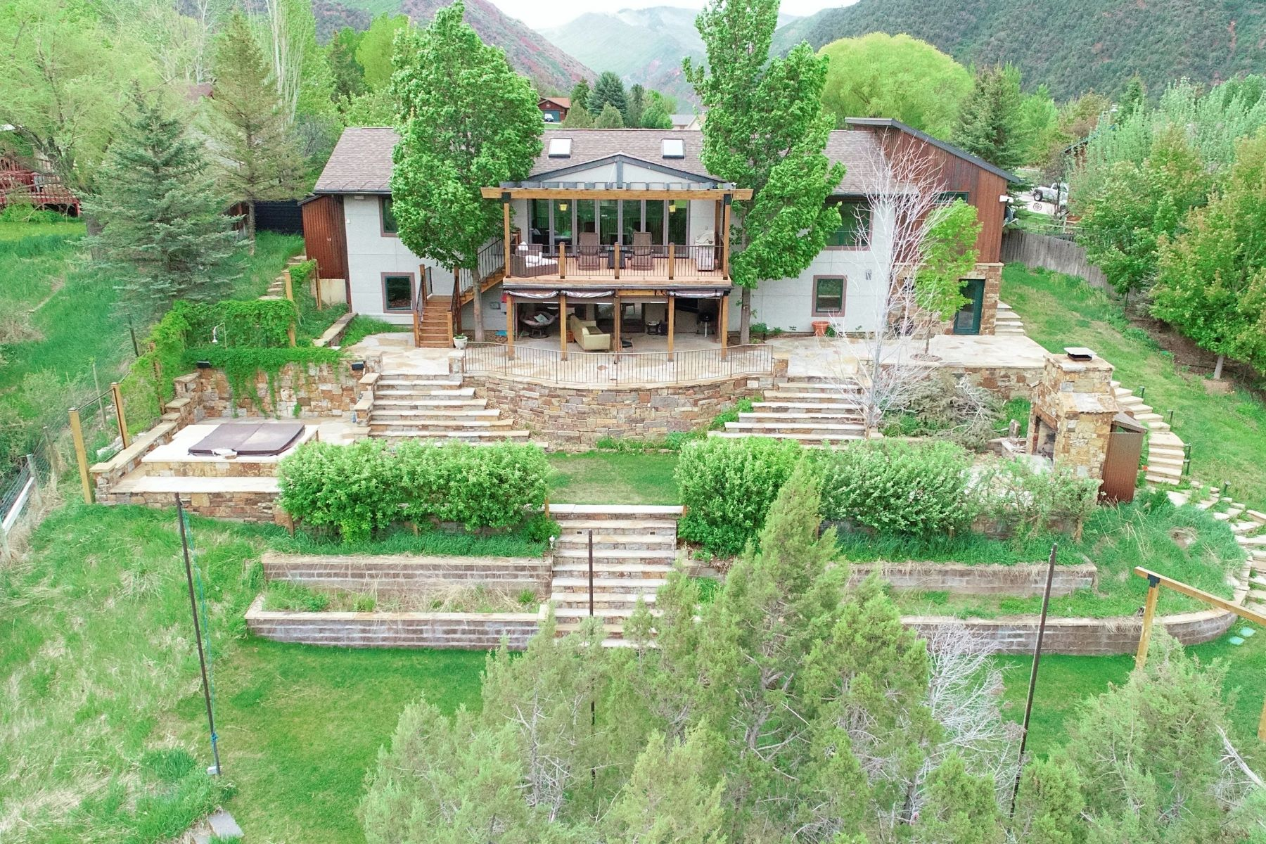 Single Family Homes for Sale at CANYON CREEK ESTATES, LOT 14 563 Canyon Creek Drive Glenwood Springs, Colorado 81601 United States