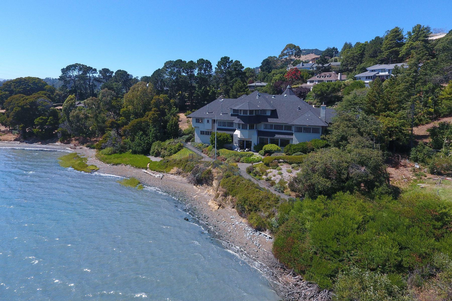 Single Family Home for Sale at Rare Waterfront Oasis! 360 Bay Way San Rafael, California 94901 United States