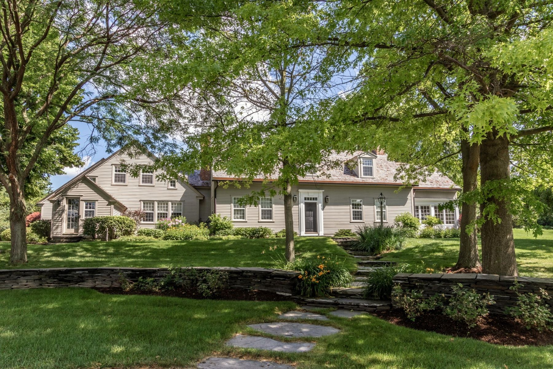 Single Family Homes for Sale at Classic New England Cape 7133 Spear Street Charlotte, Vermont 05445 United States