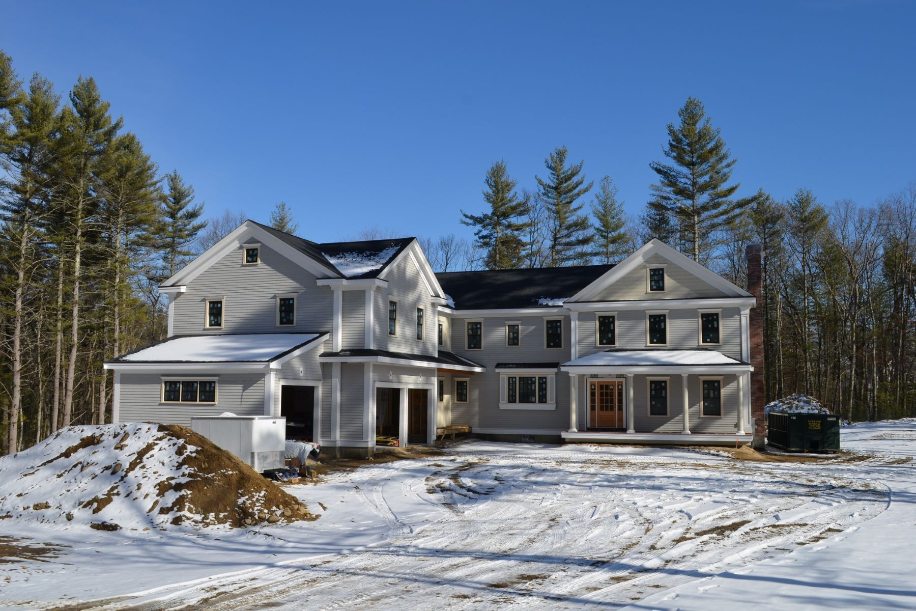 Single Family Home for Sale at Greystone Crossing - New Construction 148 Greystone Lane Carlisle, Massachusetts 01741 United States