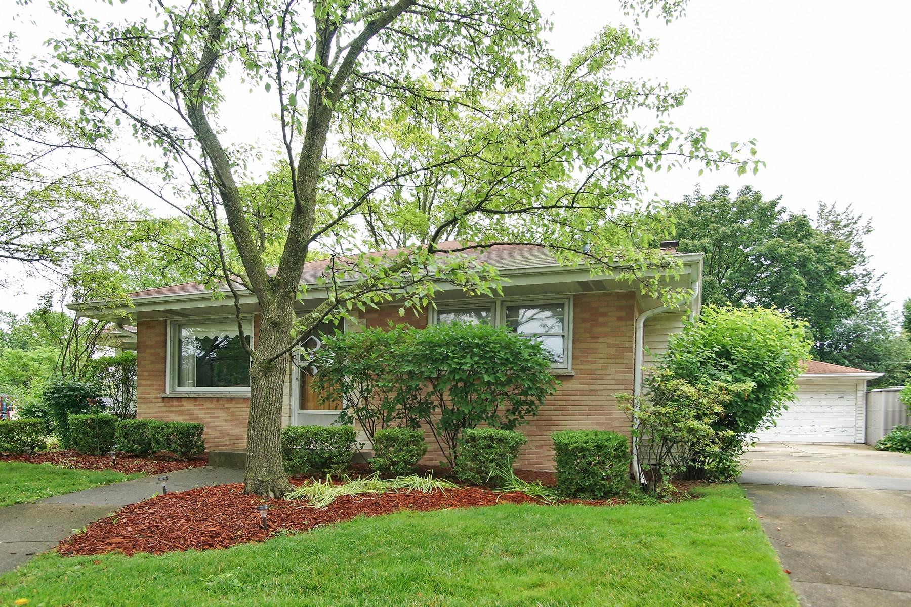 Casa para uma família para Venda às Lovely Split Level 102 N Waterman Avenue Arlington Heights, Illinois, 60004 Estados Unidos